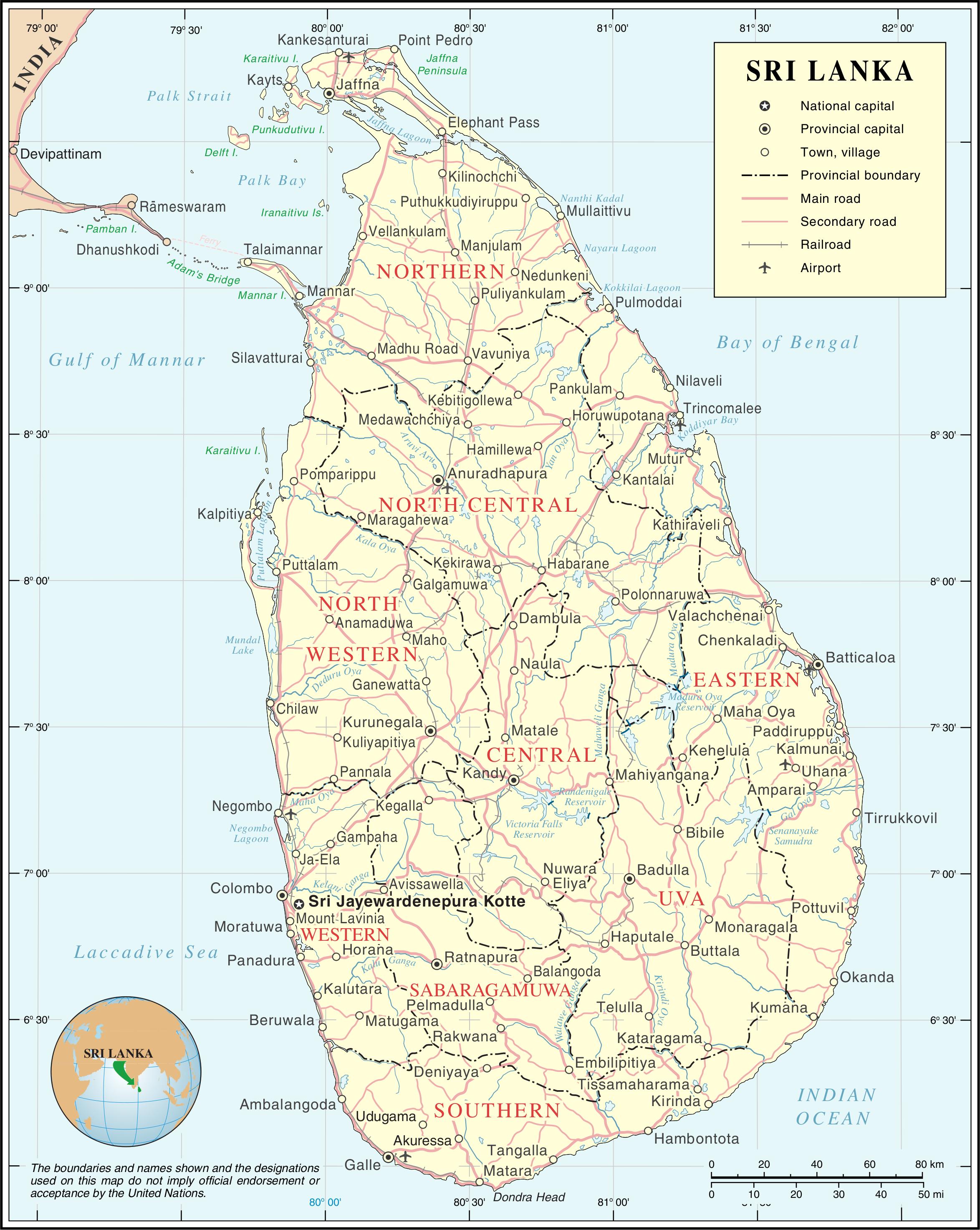 List of airports in Sri Lanka - Wikipedia