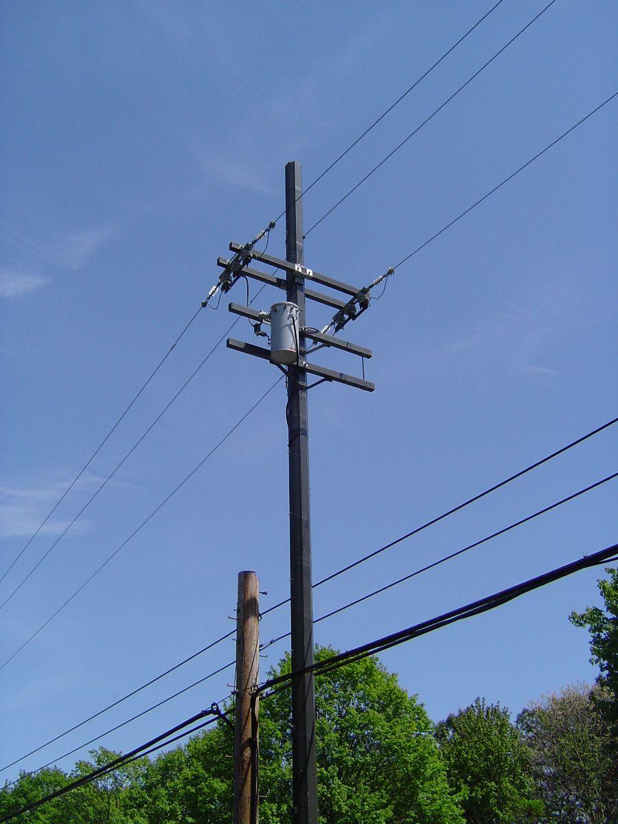 Electrical Power Poles : Utility pole wiki everipedia