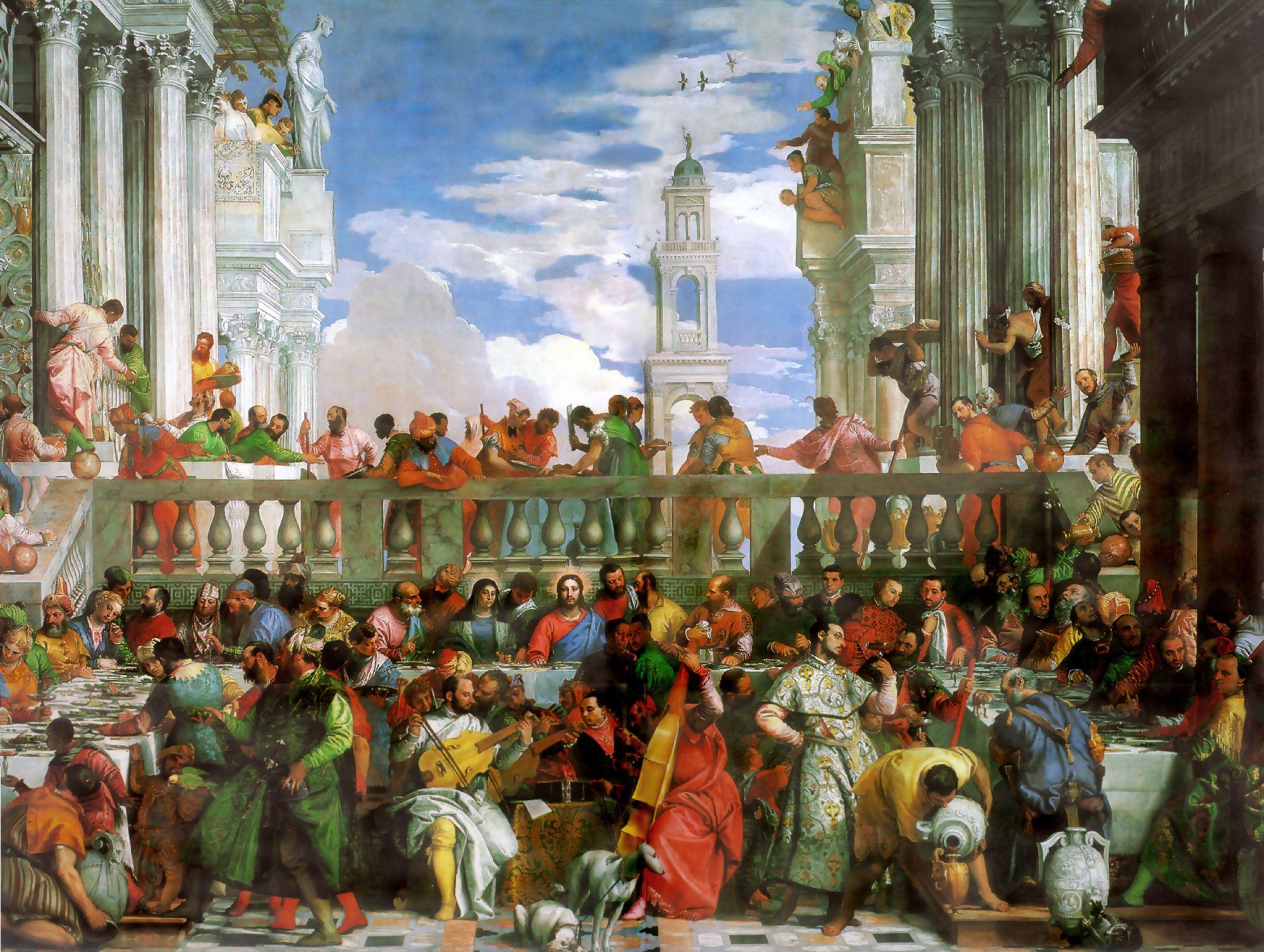 Veronese_Hochzeit zu Kana_Louvre