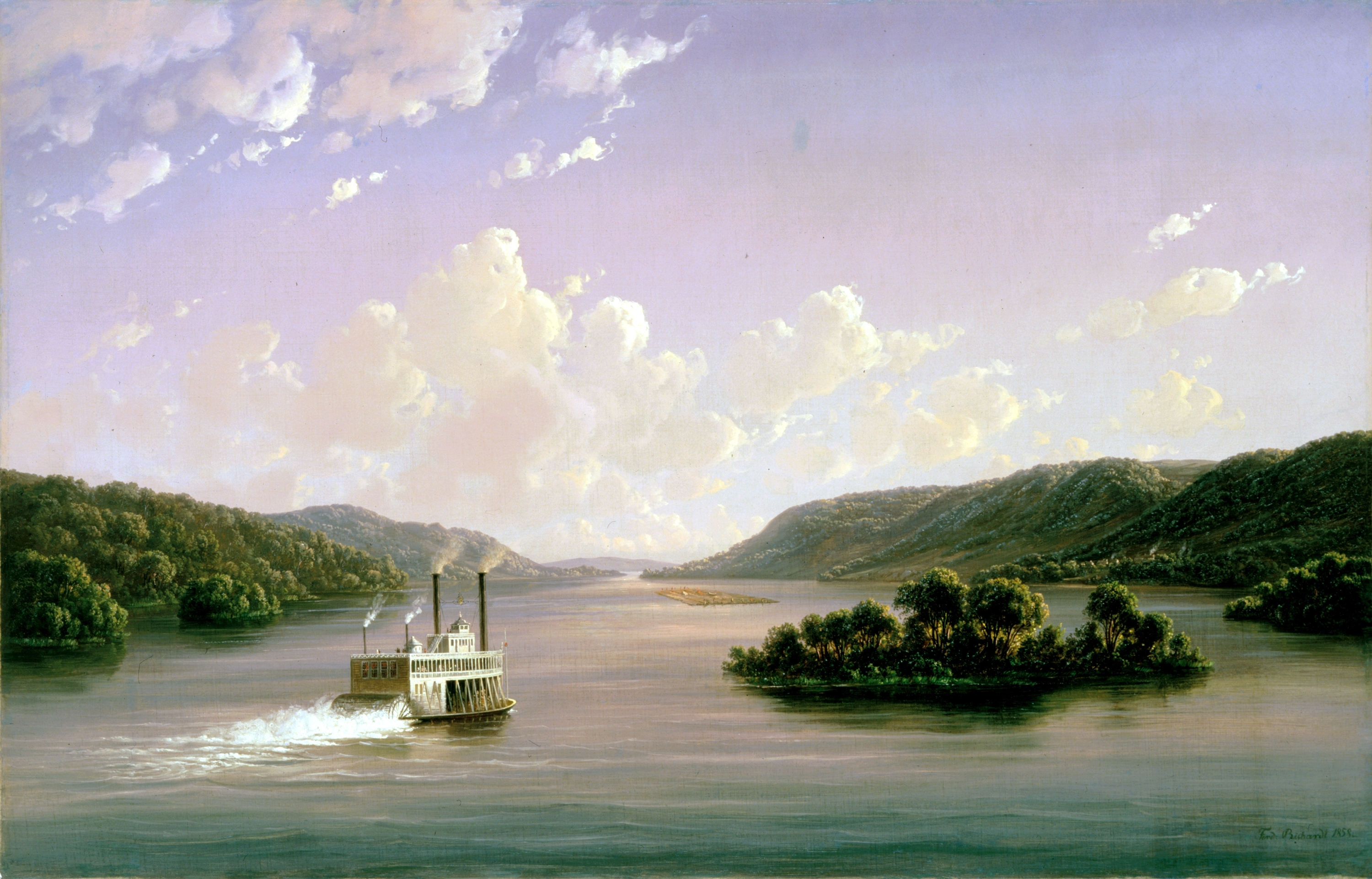Two Views of the Mississippi by Mark Twain
