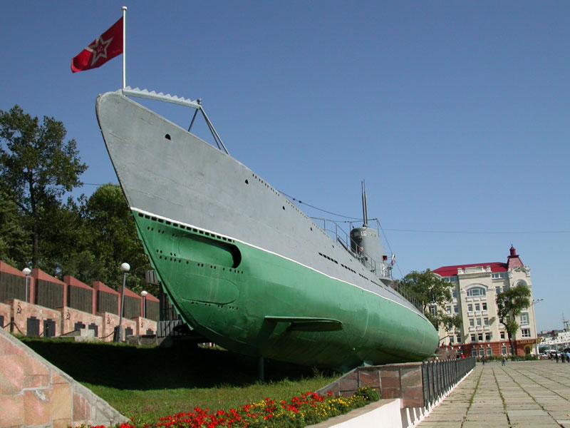 с-56 фото лодка подводная владивосток