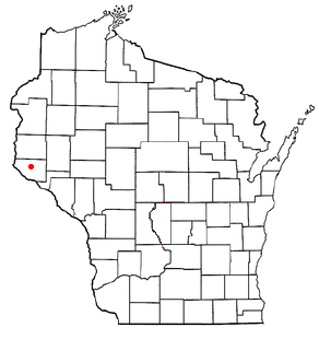 Location of Ellsworth (town),ellsworth town