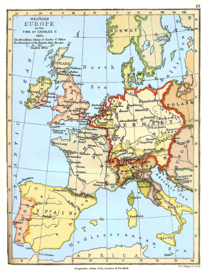File:Western Europe in the Time of Charles V (1525).png