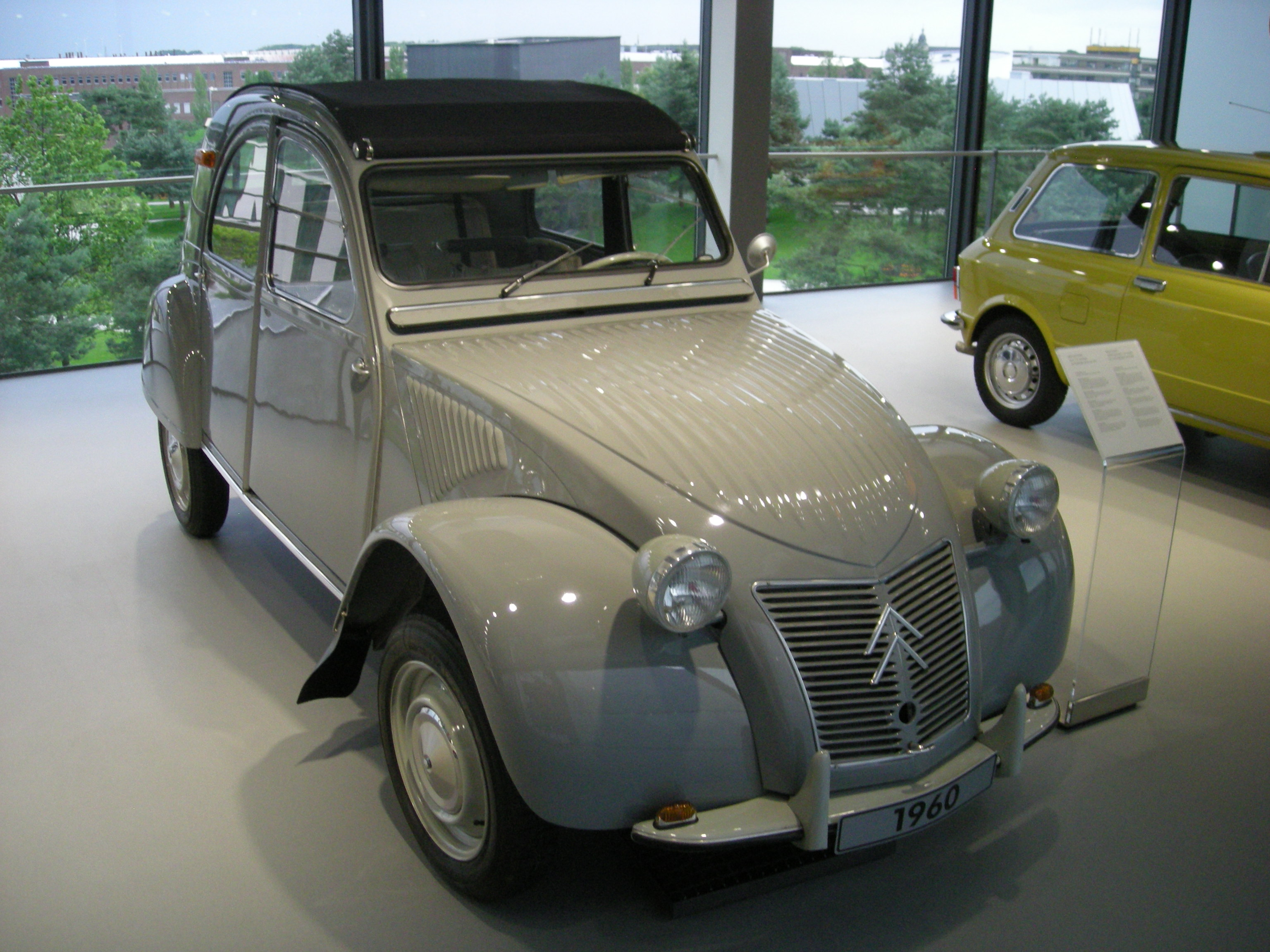 citroen 2cv 1960