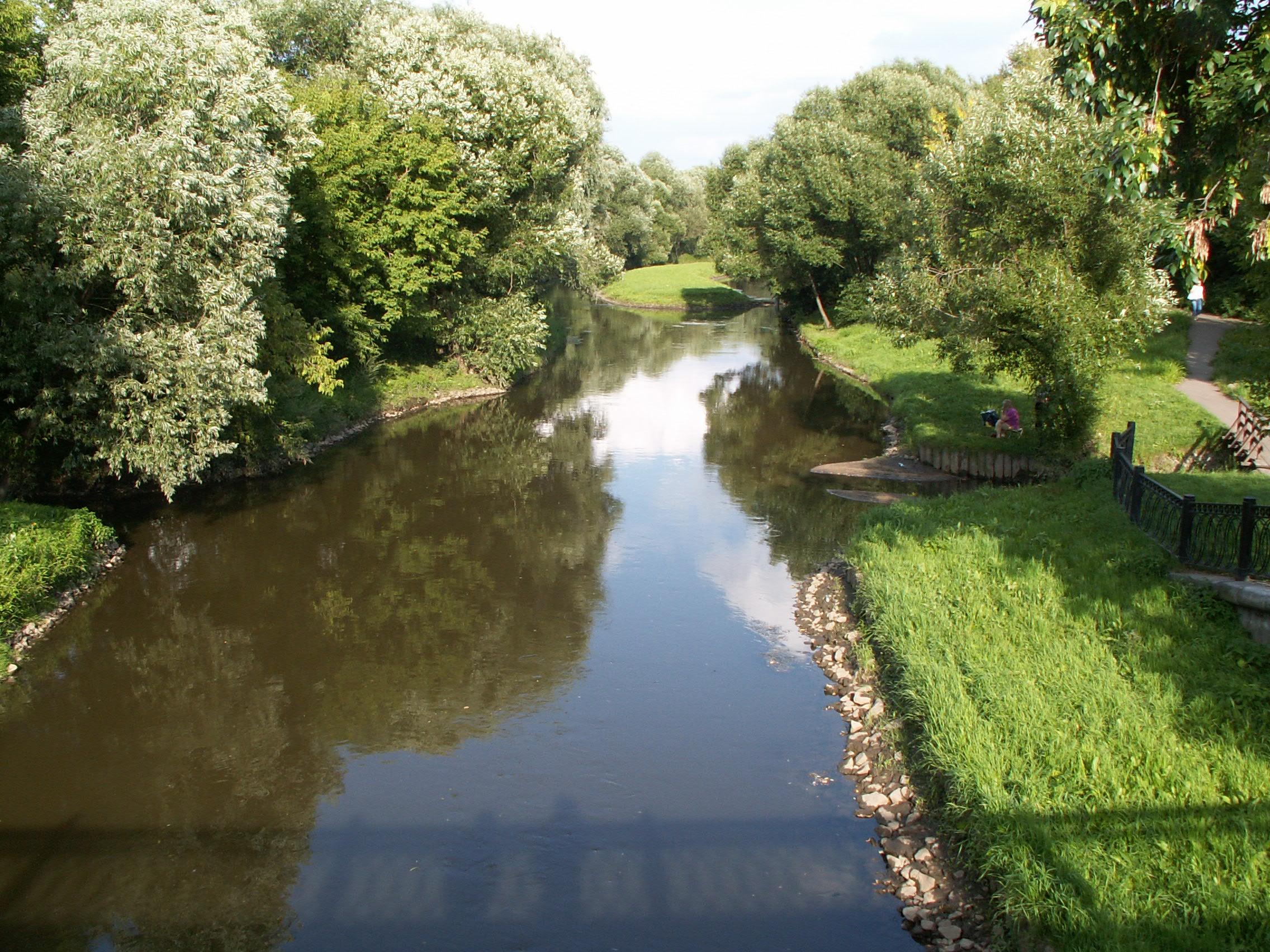 Куда впадает река яуза схема фото 420