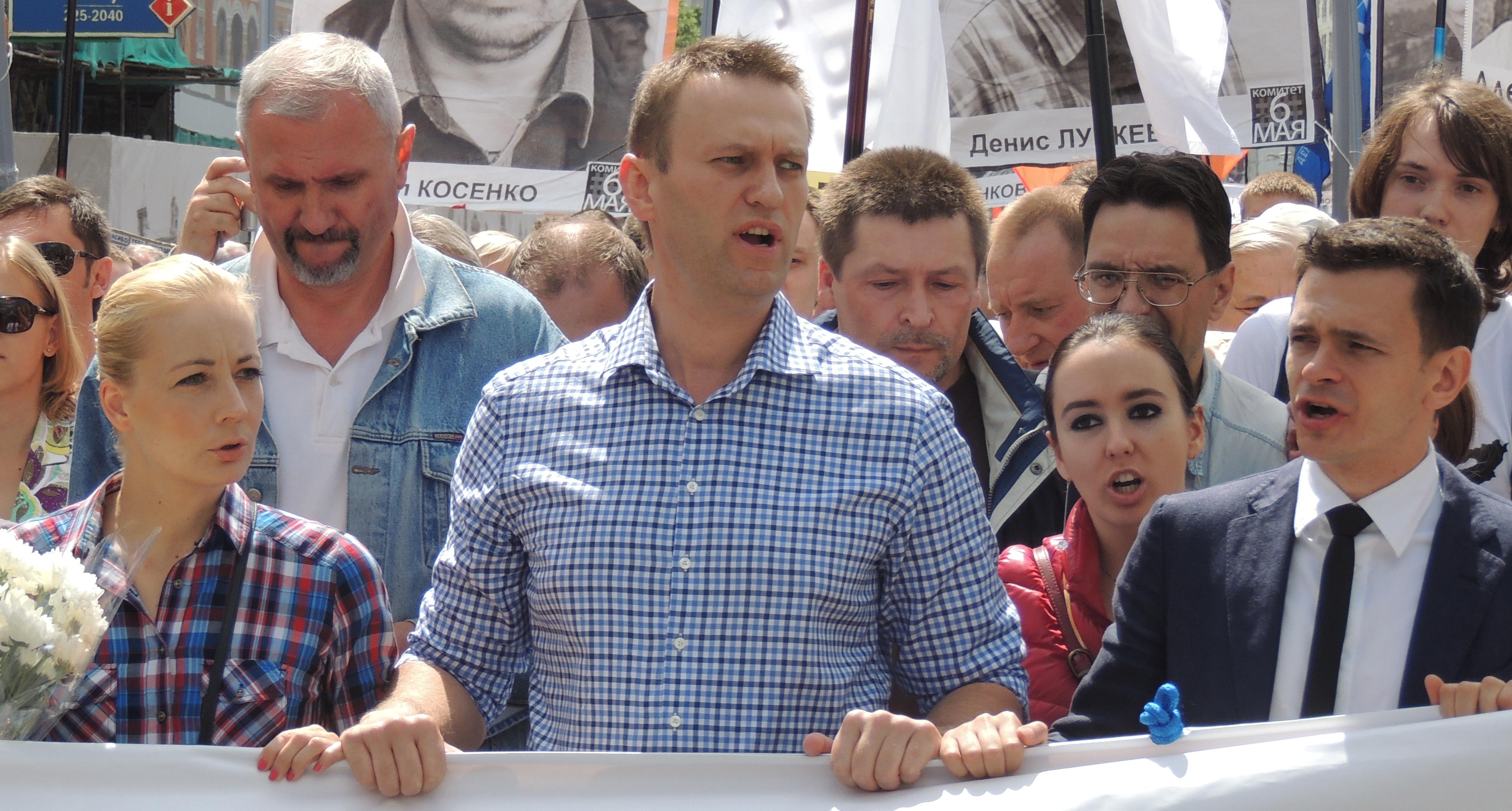 File:Yulia Navalny, Alexey Navalny, Anna Veduta and Ilya Yashin at Moscow  rally 2013-06-12 1.JPG - Wikimedia Commons