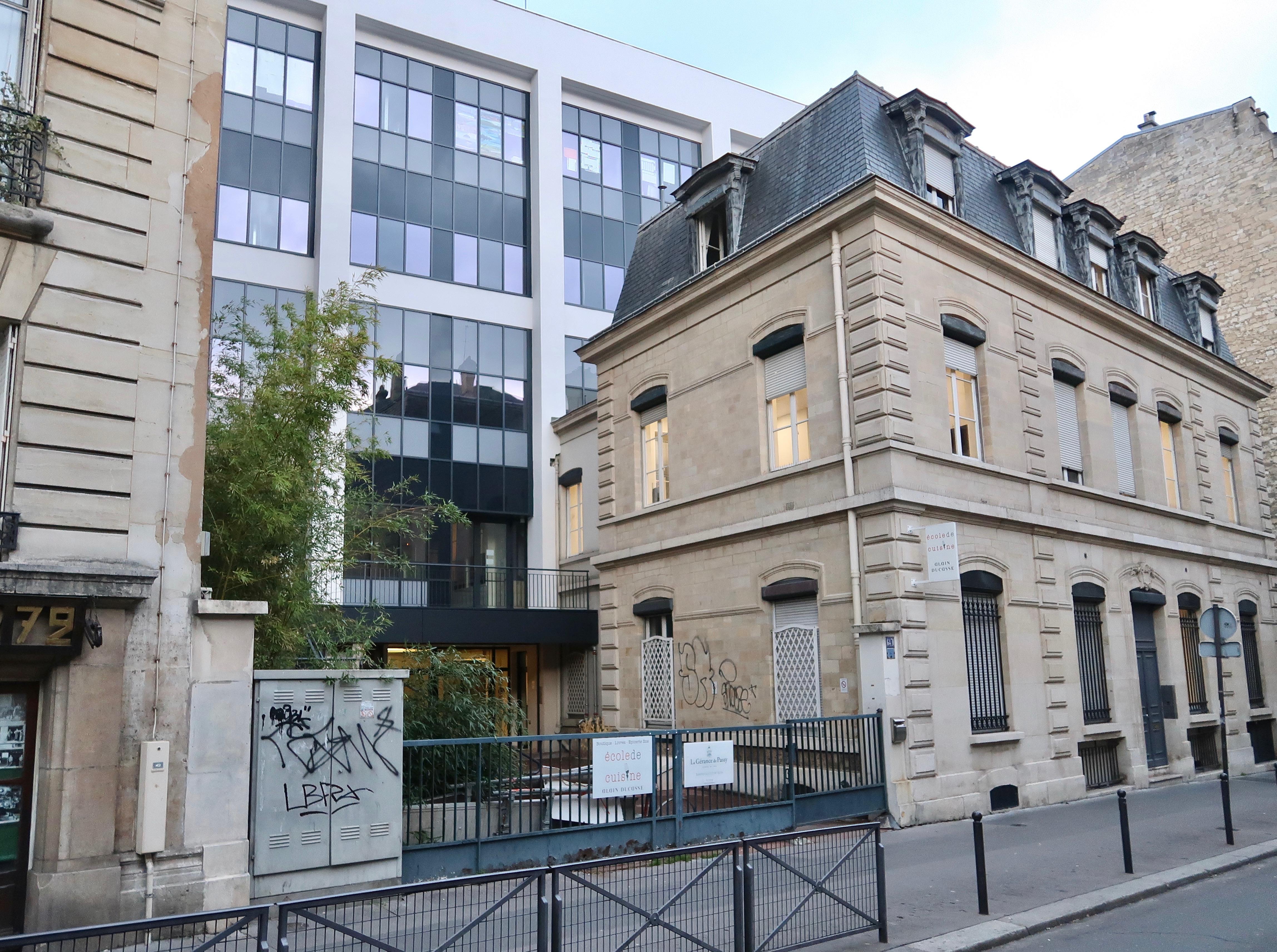 File Ecole De Cuisine Alain Ducasse 64 Rue Du Ranelagh Paris 16e