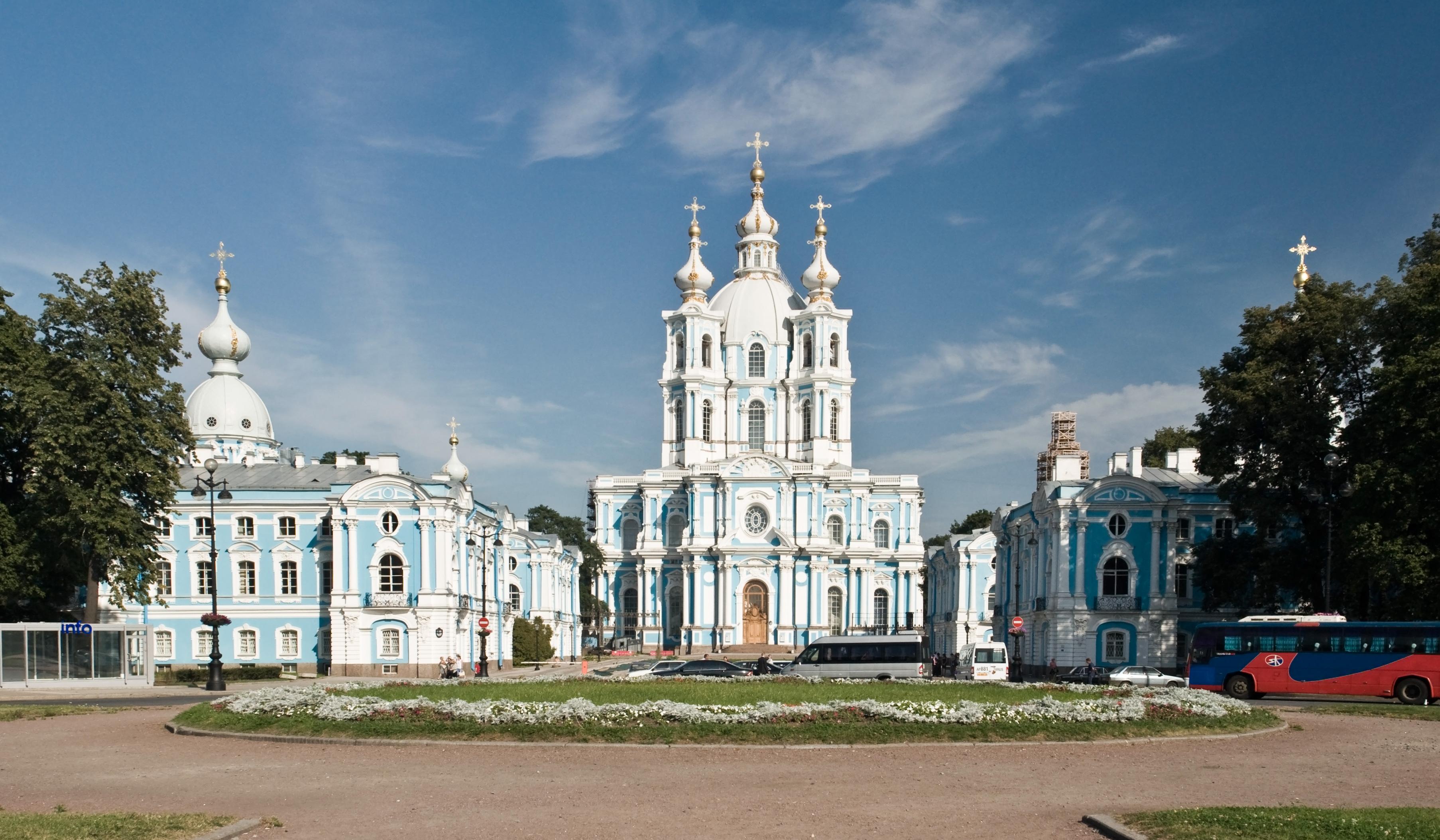 Convento Smolny - Wikipedia, la enciclopedia libre