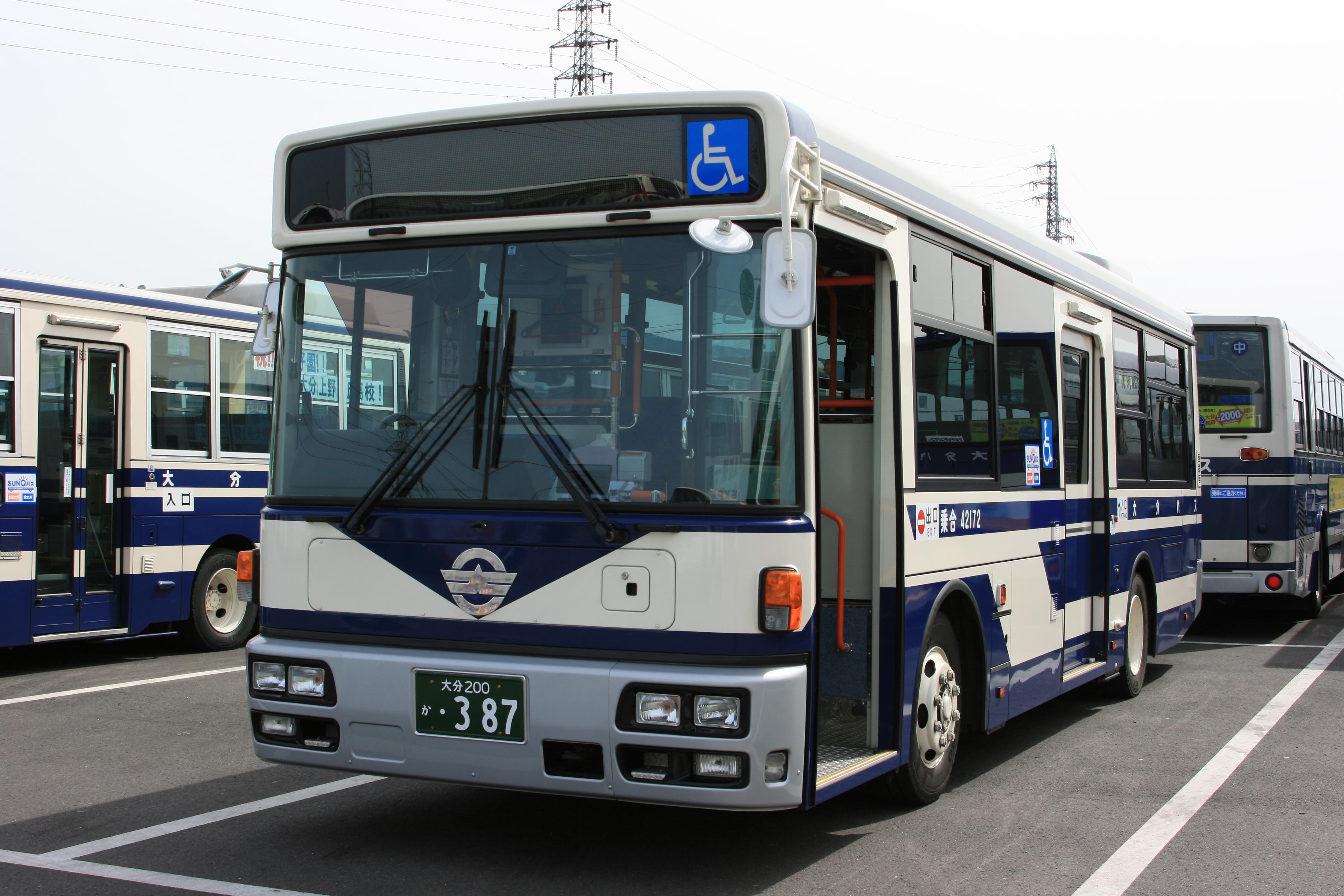 大分のバス
