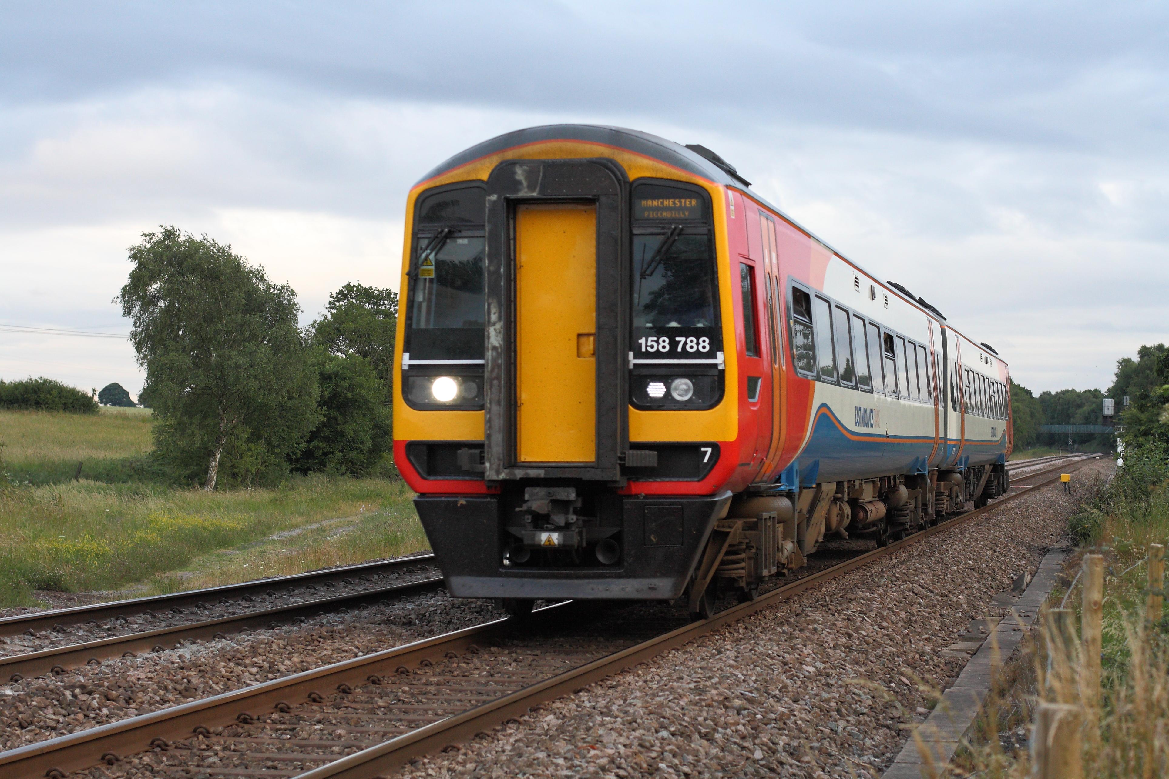 British Rail Class 158 Express Sprinter