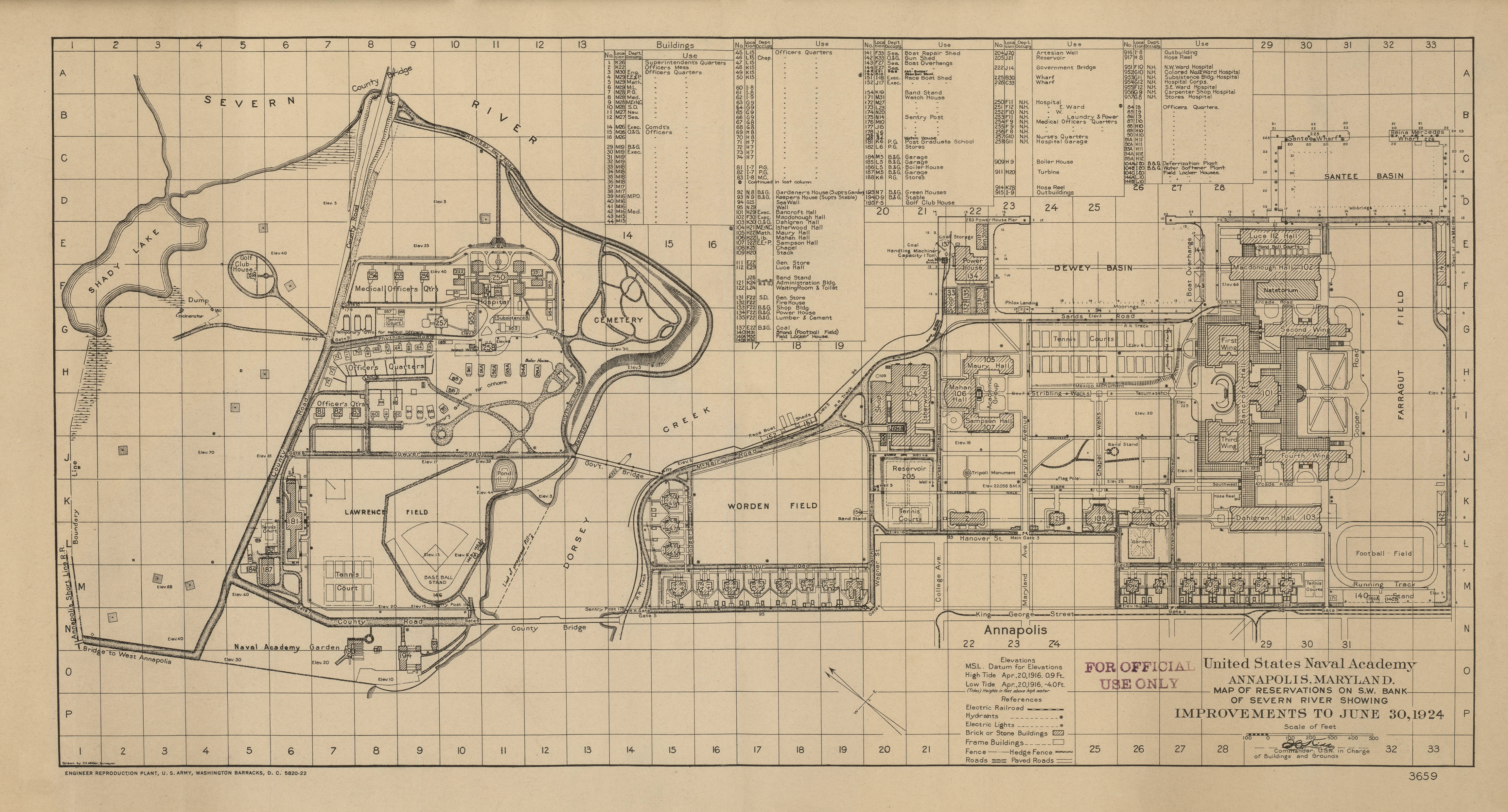 us naval academy campus map File 1924 Map Of Us Naval Academy Png Wikipedia us naval academy campus map