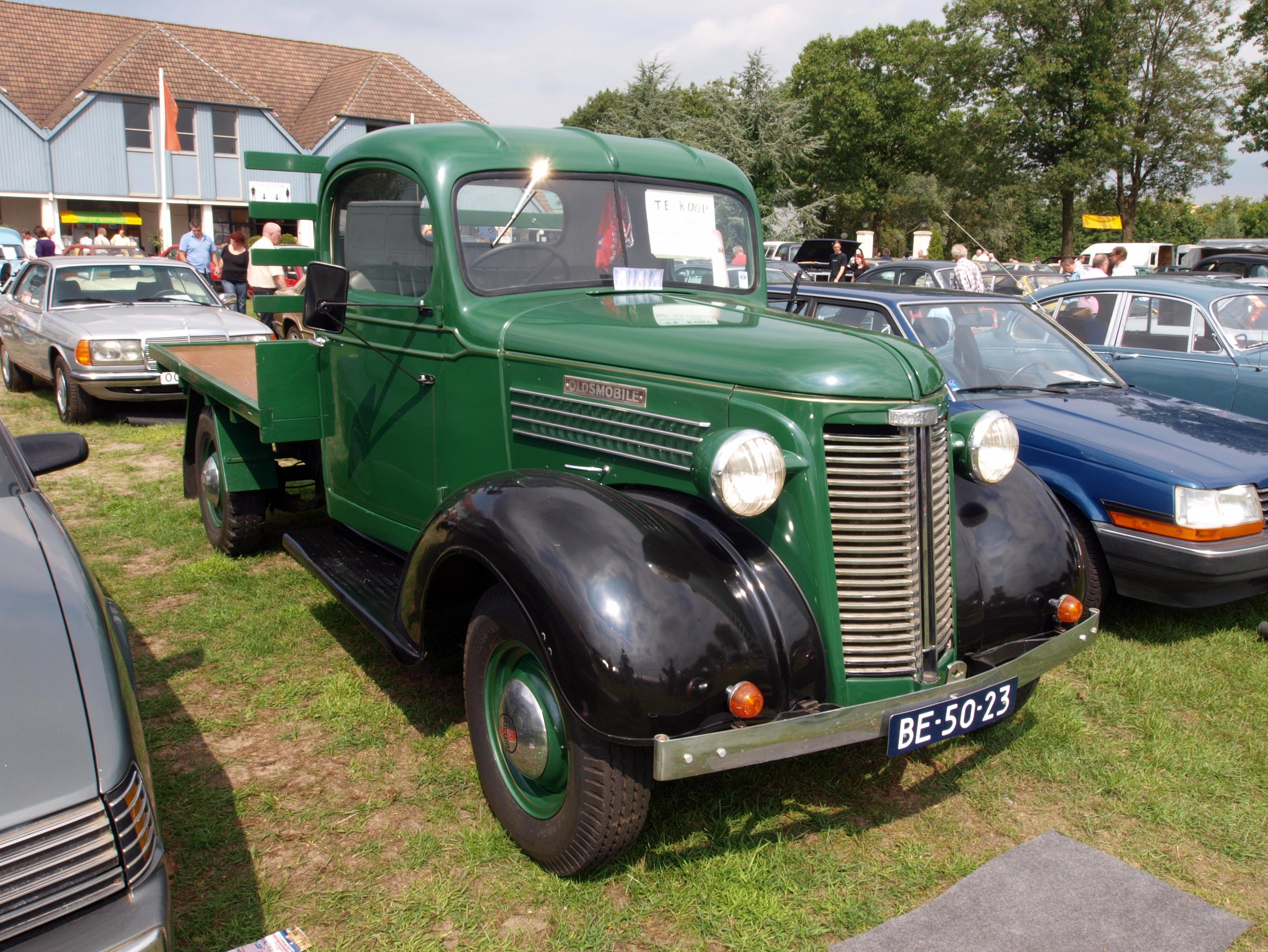 File 1938 Oldsmobile Olds Cab Dutch Licence Registration