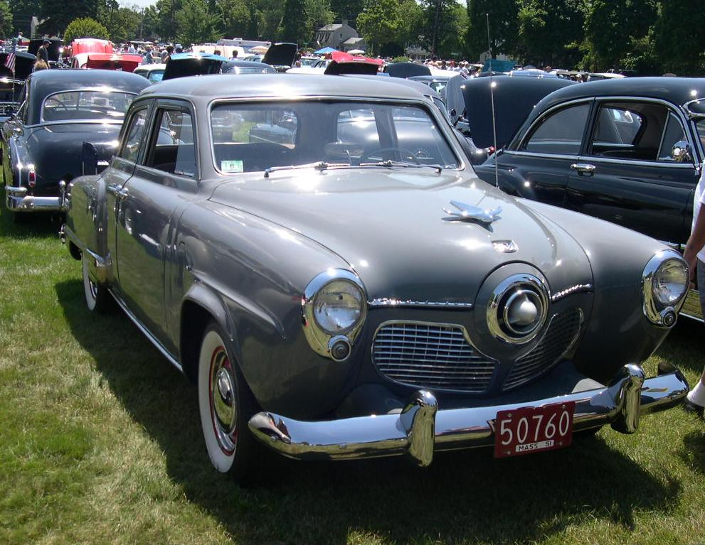 Studebaker Commander And  And Chasing Classic Cars
