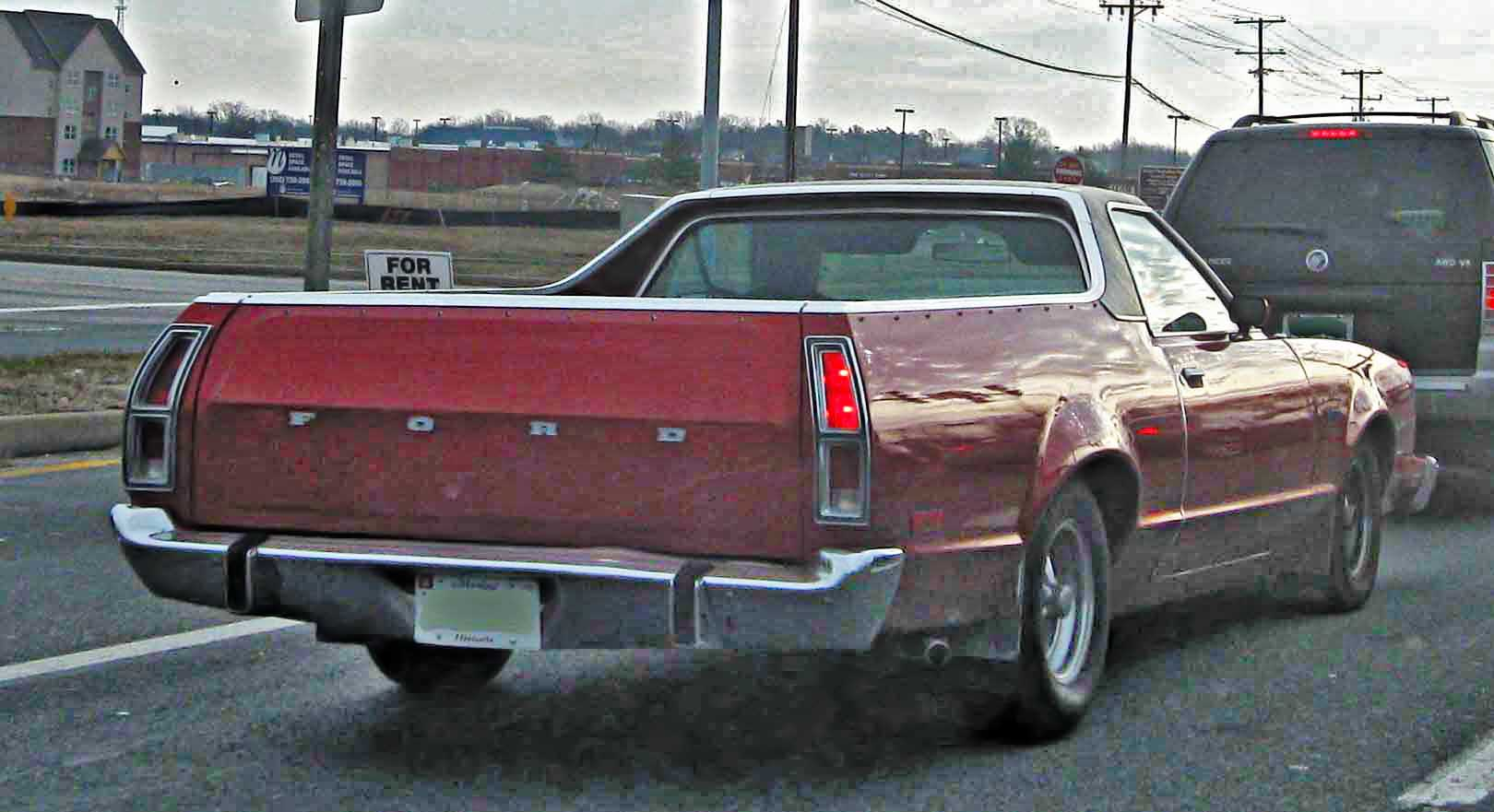 File 1979 Ford Ranchero Rear Jpg Wikimedia Commons