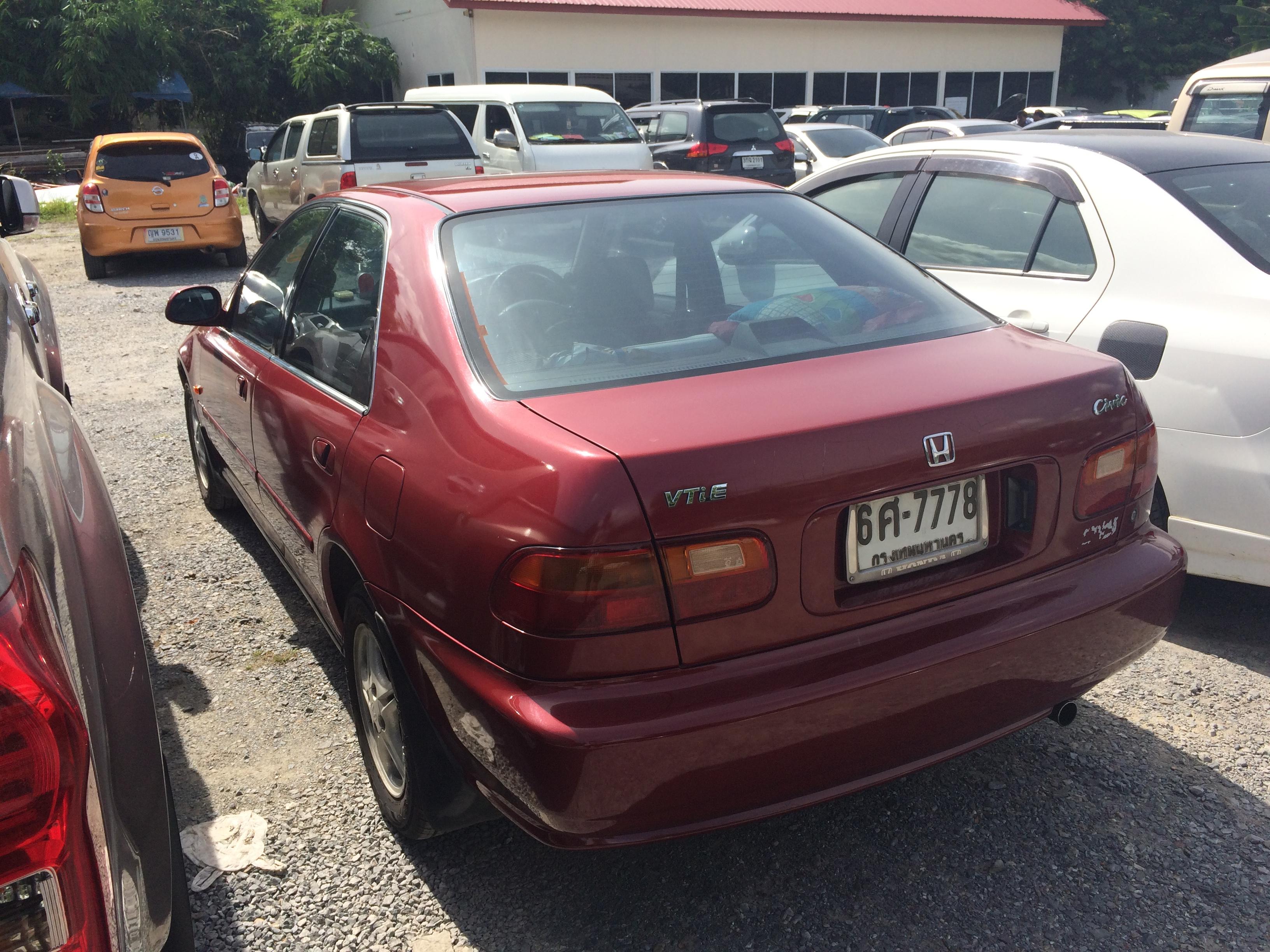 File 1994 1995 Honda Civic Eg Vti E Sedan 12 08 2017 03 Jpg Wikimedia Commons