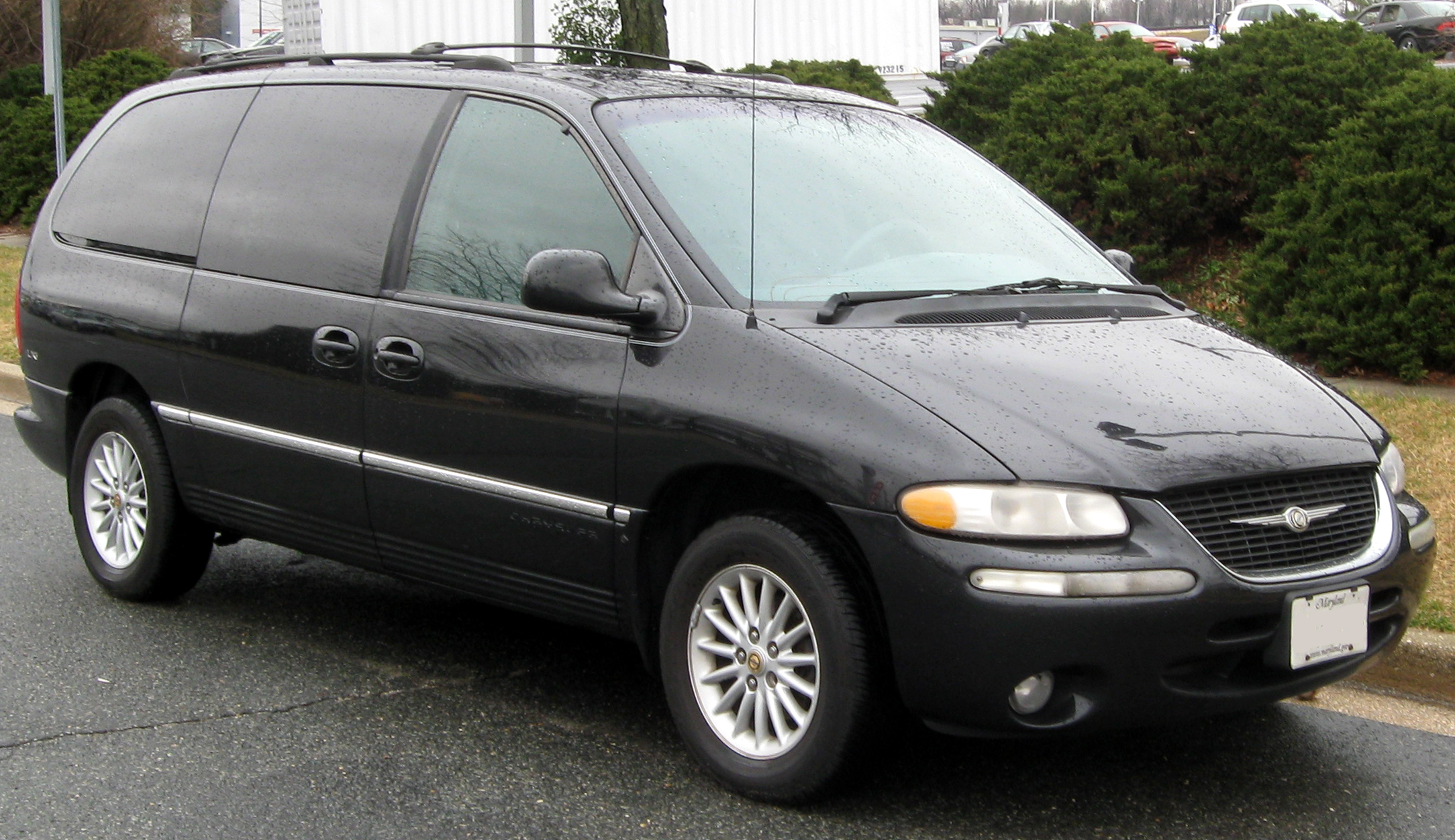 file 1998 2000 chrysler town country 02 29 2012 jpg wikimedia. Cars Review. Best American Auto & Cars Review