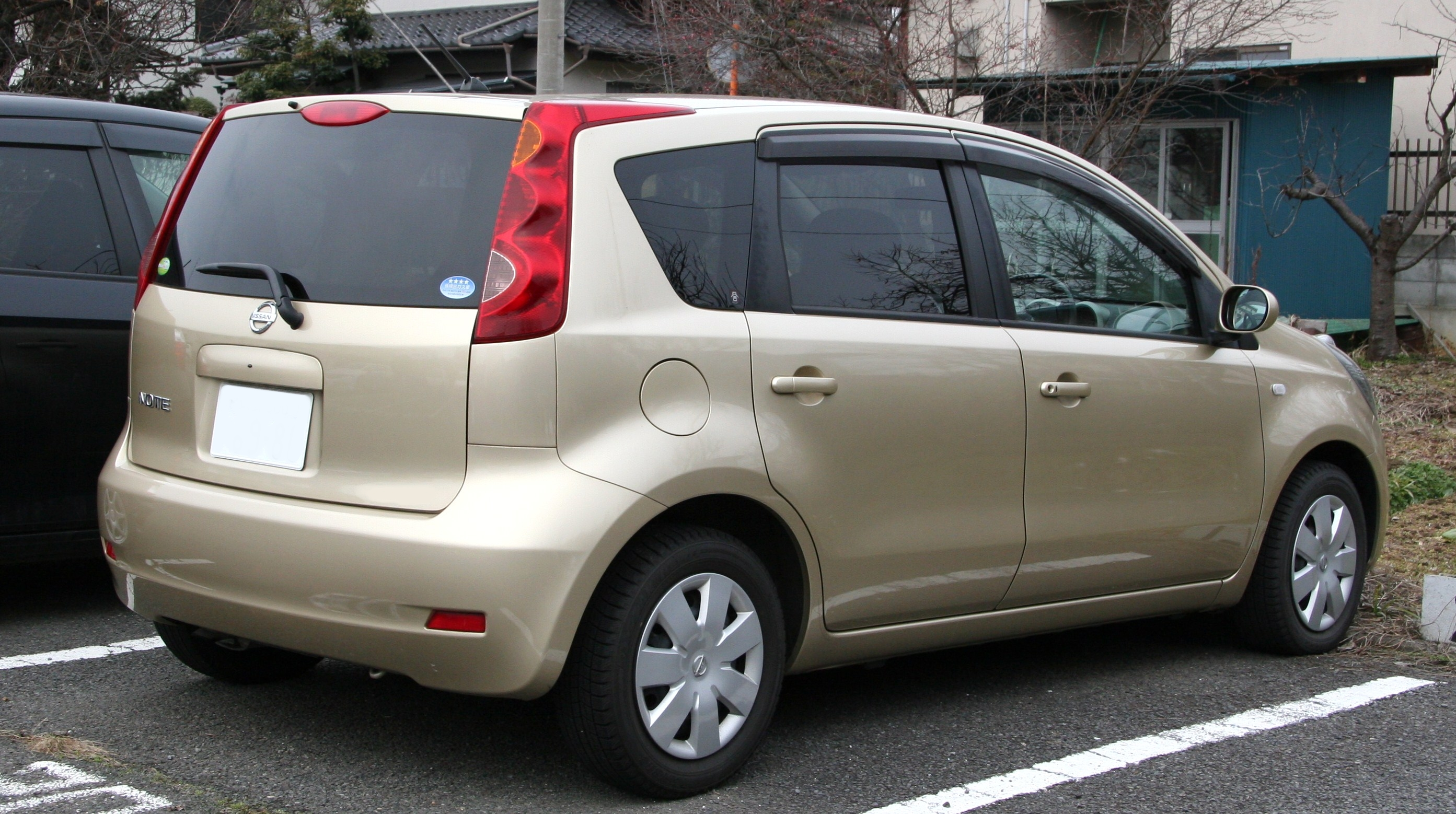 file 2005 2008 nissan note wikimedia commons. Black Bedroom Furniture Sets. Home Design Ideas