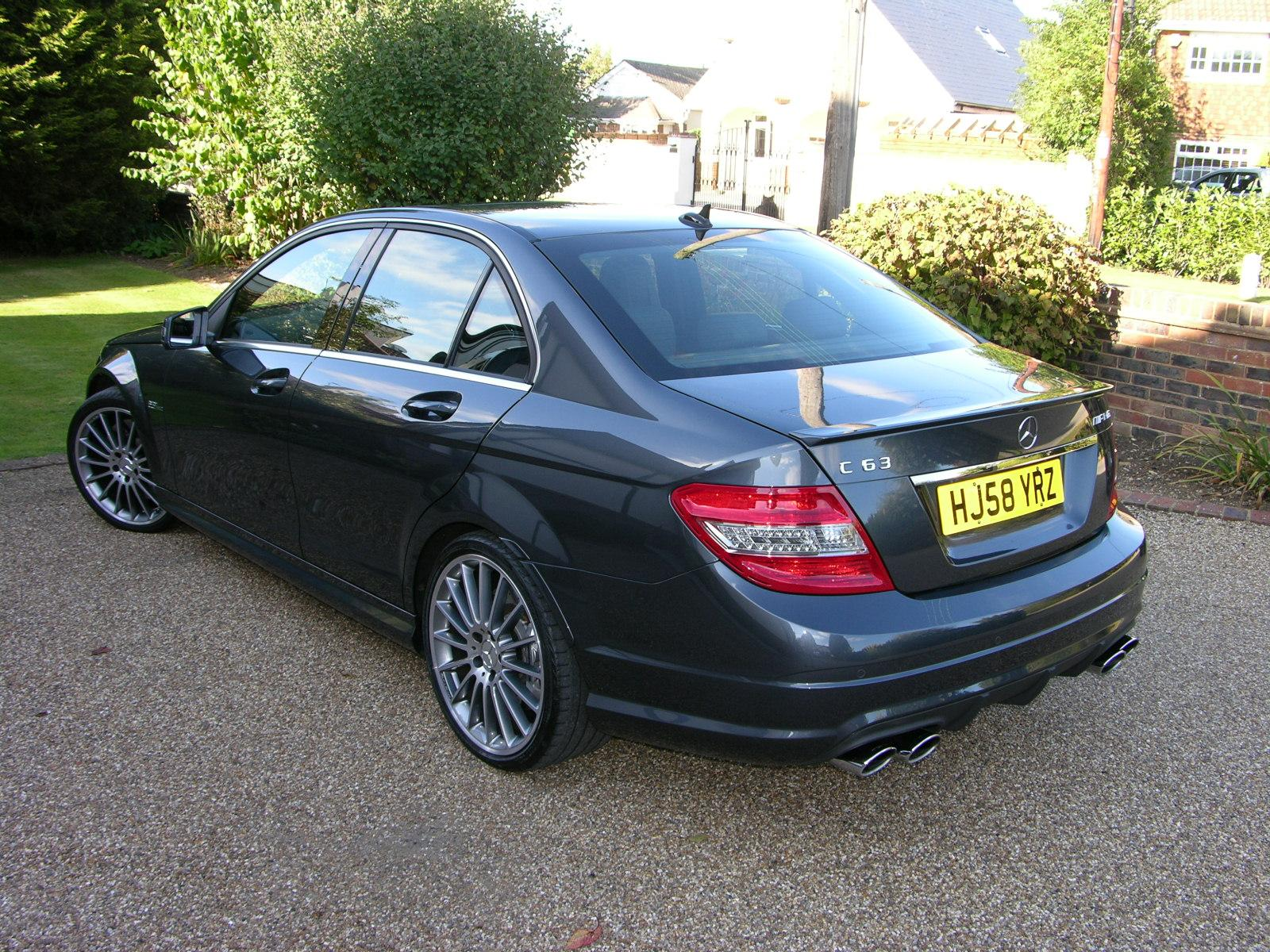 File 2008 Mercedes Benz C63 Amg Flickr The Car Spy Jpg Wikimedia Commons