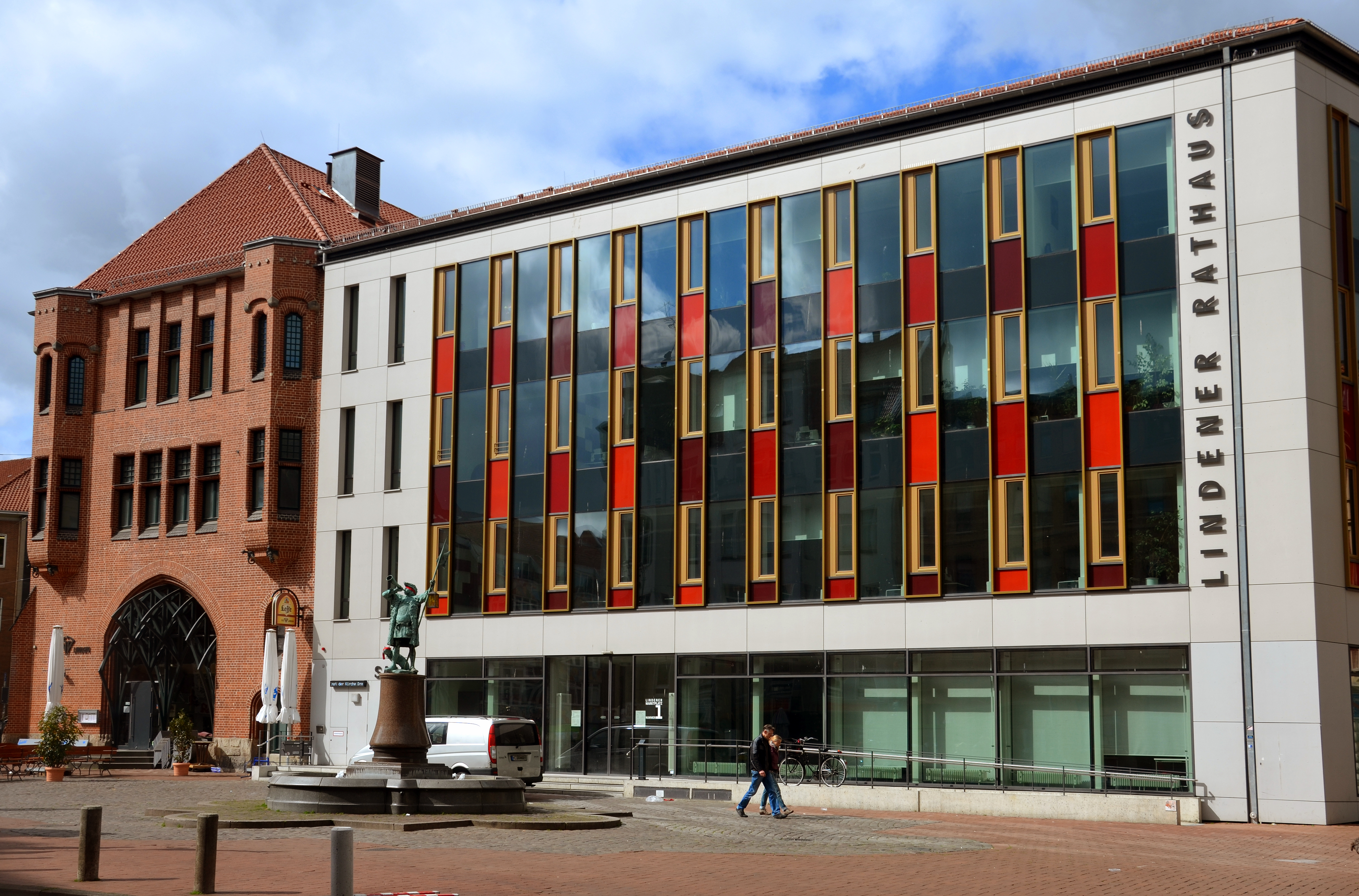 Neues Lindener Rathaus Hannover Wikiwand