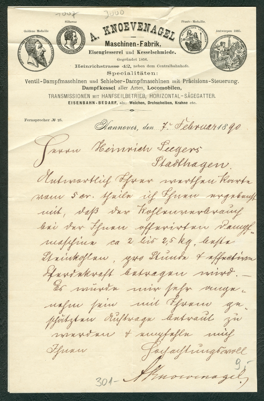 File:A. Knoevenagel Maschinen-Fabrik Eisengiesserei und ...