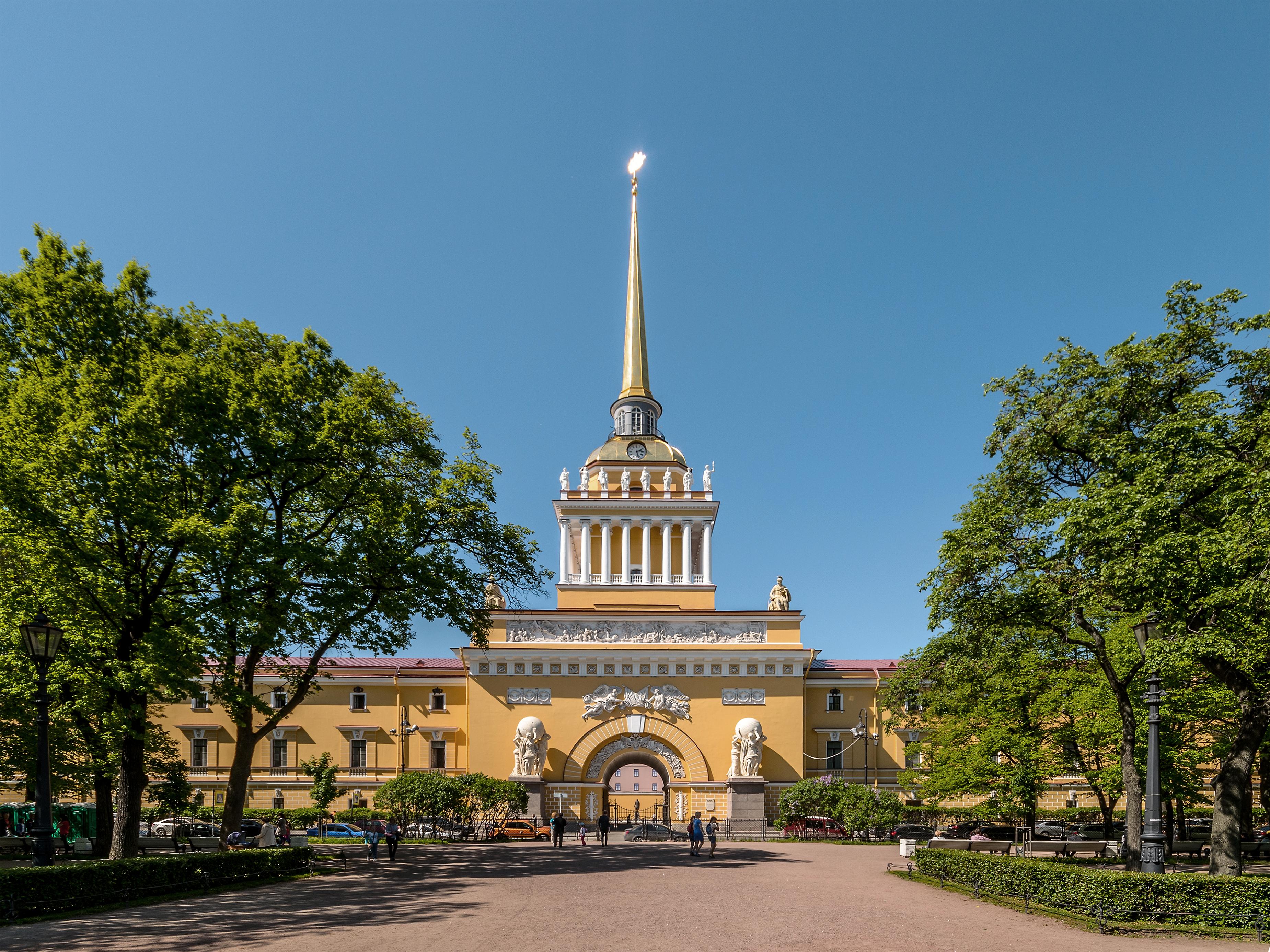 Almirantazgo de San Petersburgo - Wikipedia, la enciclopedia libre