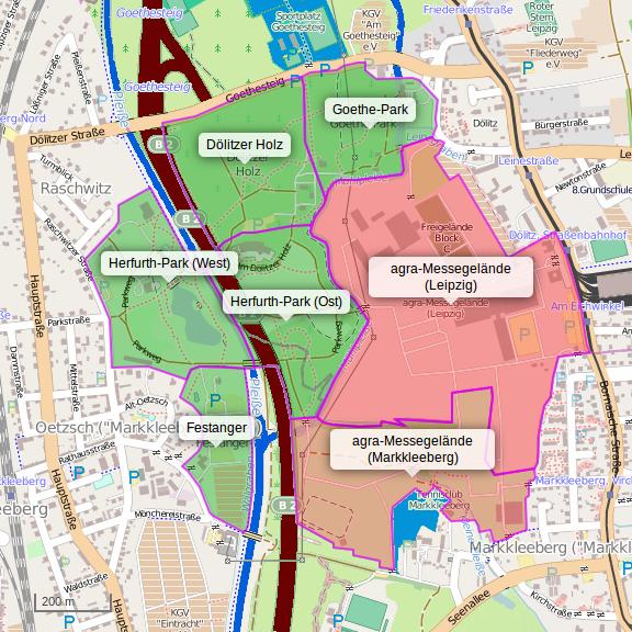 Leipzig Karte Mit Stadtteilen.Agra Gelande Wikipedia