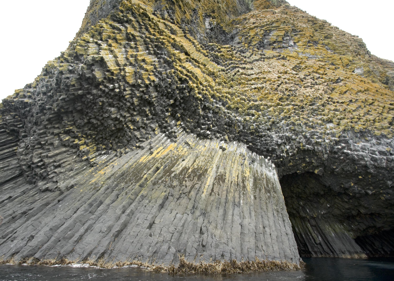 Description Of Basalt : File akun island columnar basalt cave g wikimedia commons