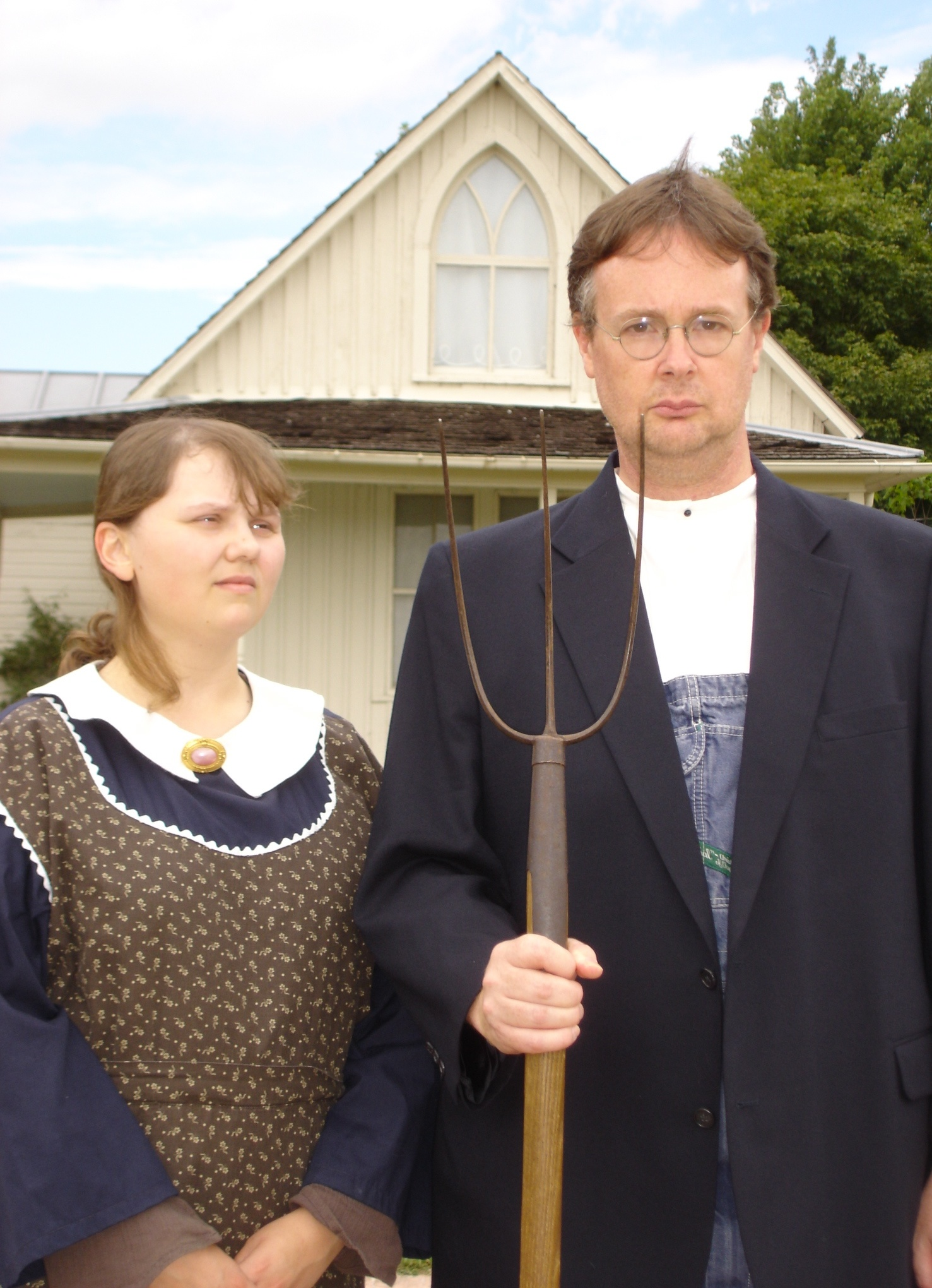 FileAmerican Gothic House Picture Takenjpeg