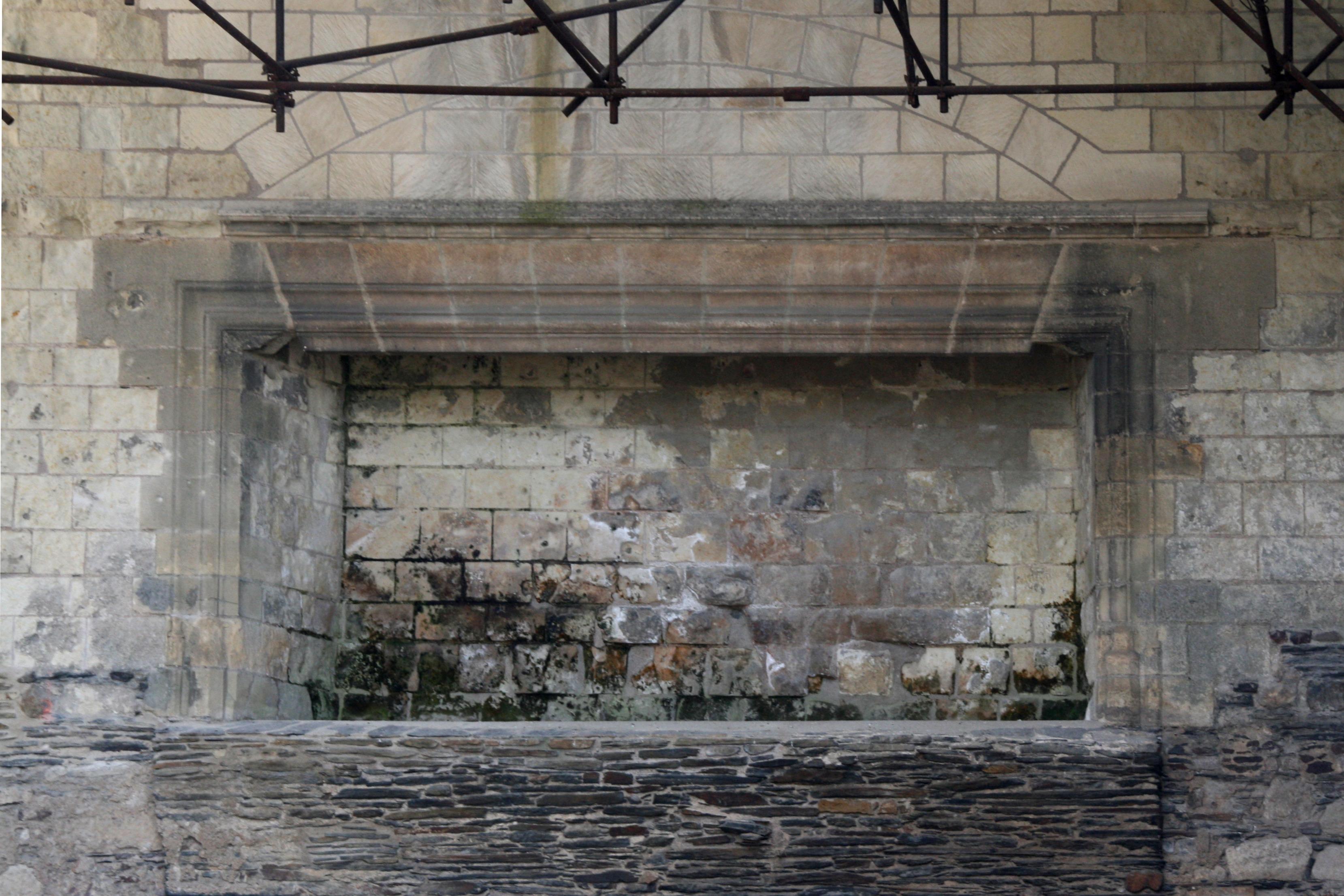 File Angers Ch Teau Chemin E Monumentale Dans L