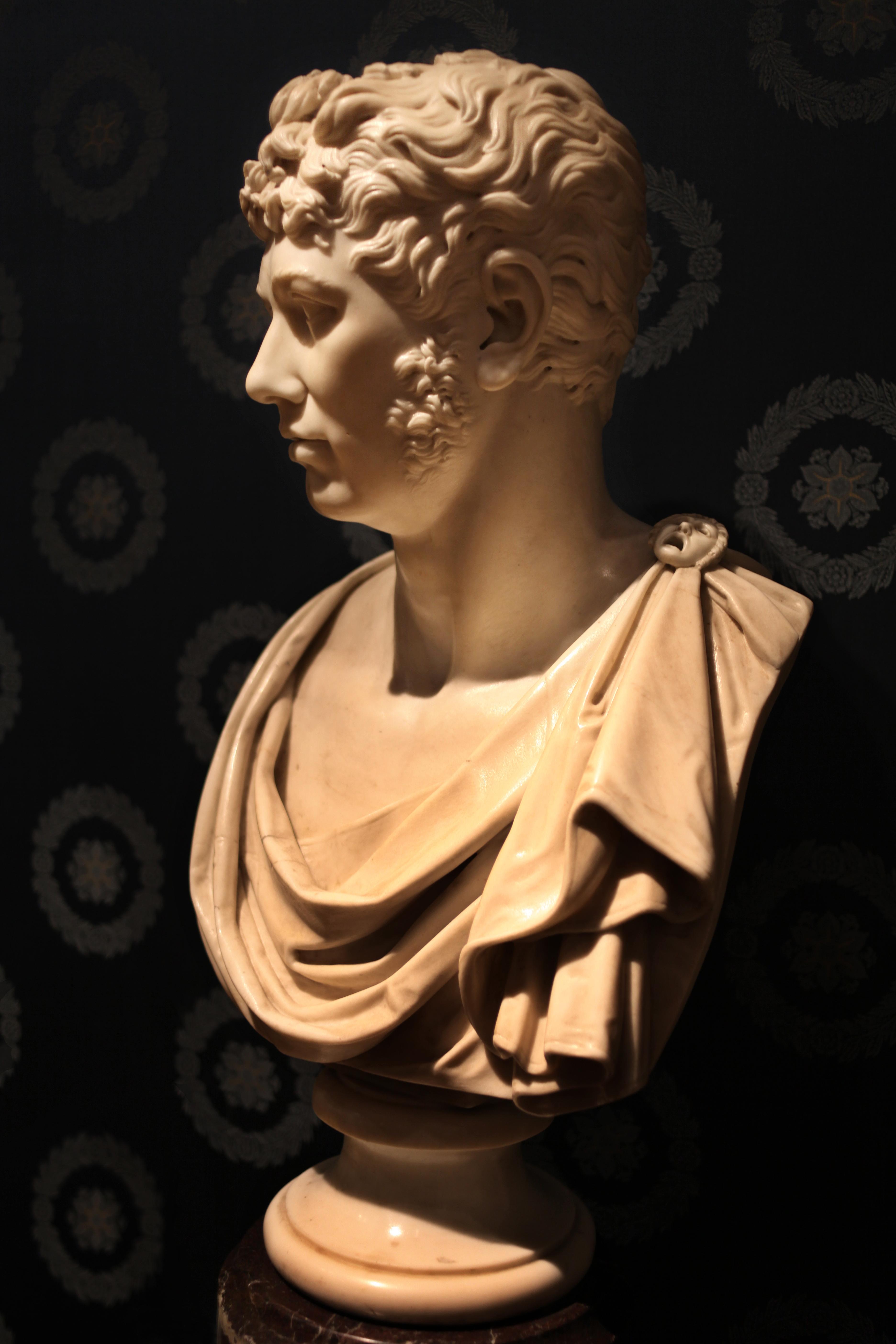 b95dcc961 File Antonio Canova (1757-1822) Busto di Nicola Tacchinardi.jpg. Dimensioni  ...