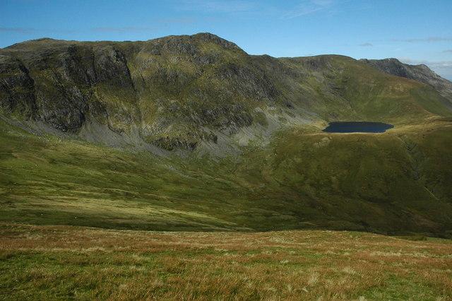 File:Aran Fawddwy ridge from Drysgol - geograph.org.uk - 1493228.jpg