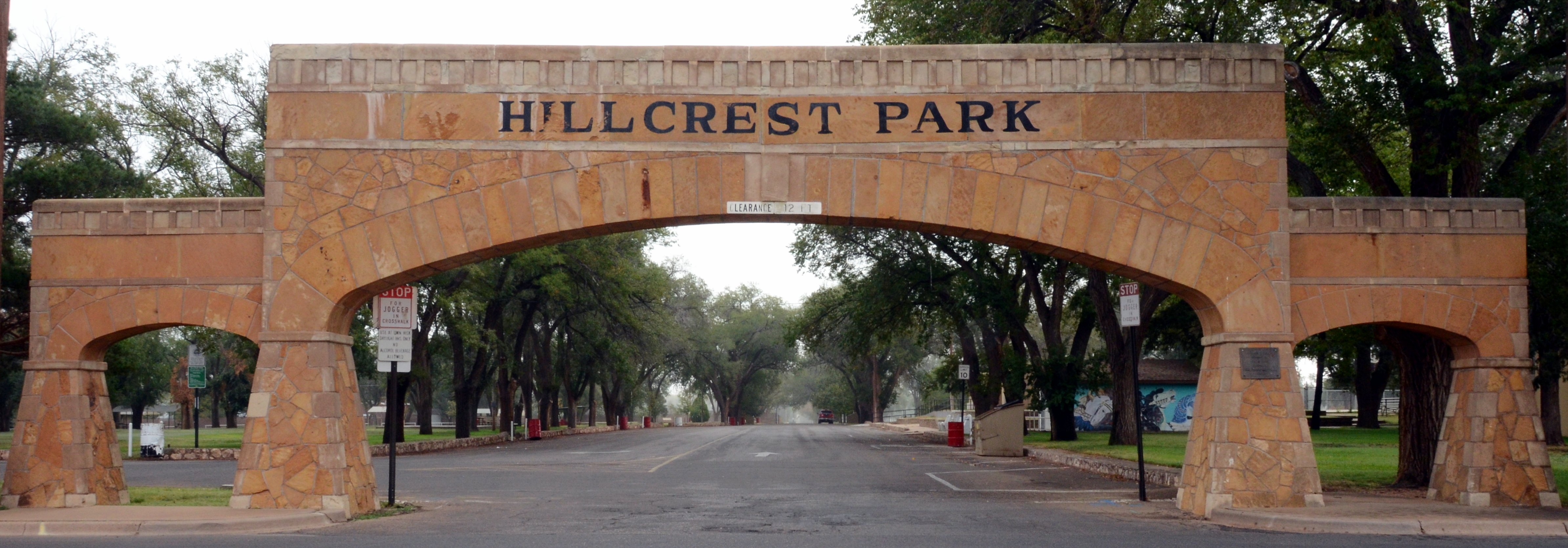 New mexico curry county clovis - File Archway To Hillcrest Park Clovis Nm Jpg