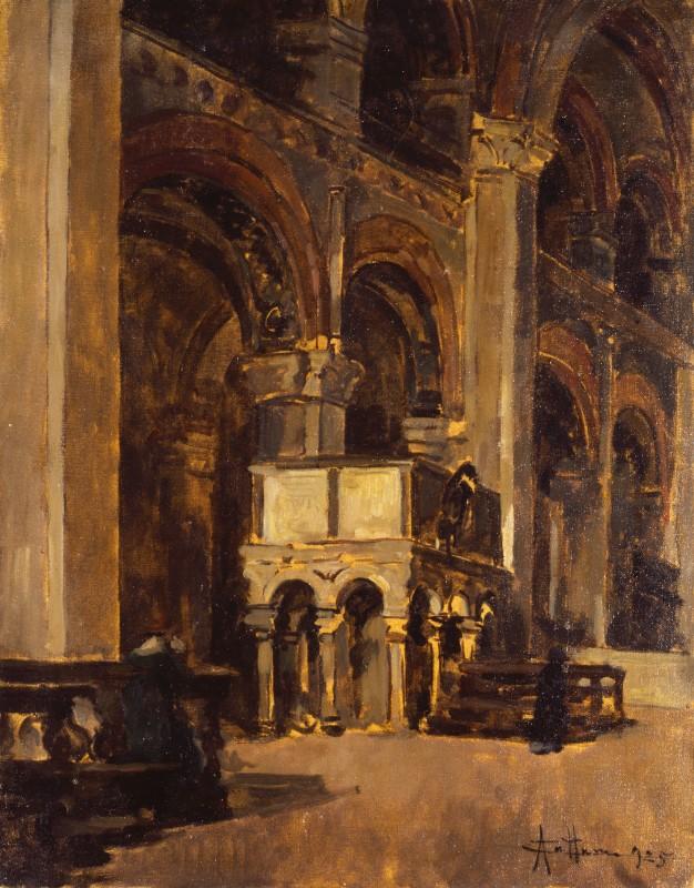 Interno Della Chiesa Di Sant 39 Ambrogio Wikipedia