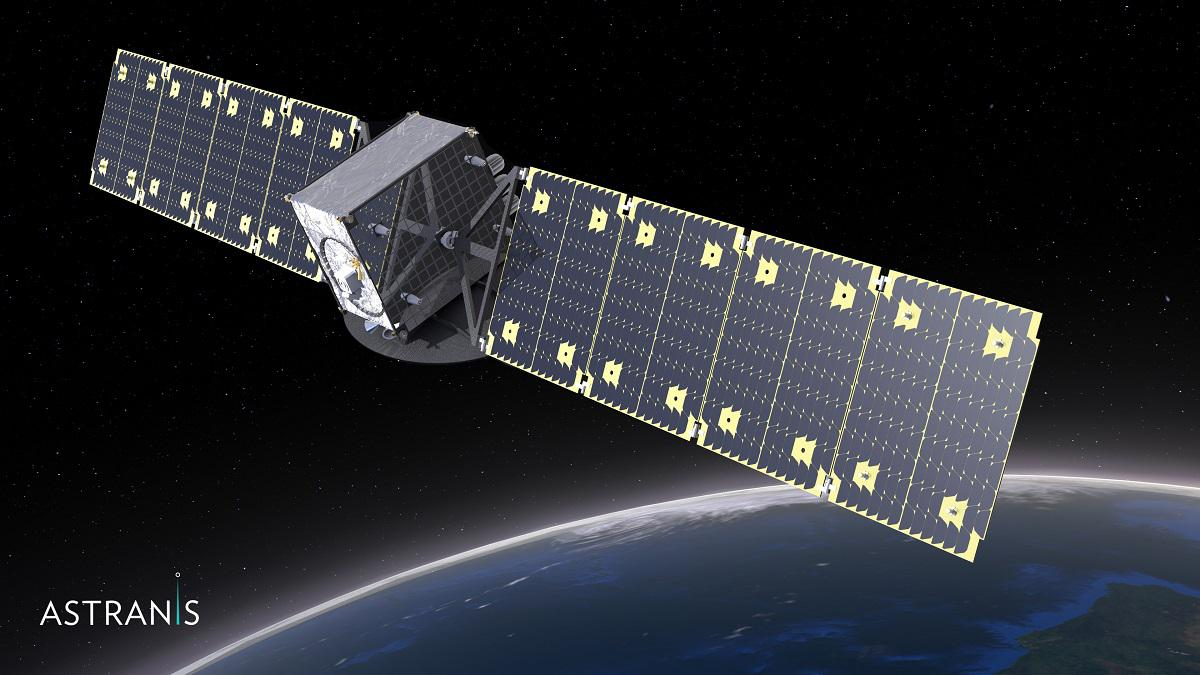 Astranis microGEO Satellite - CC BY-SA Astranis Space Technologies
