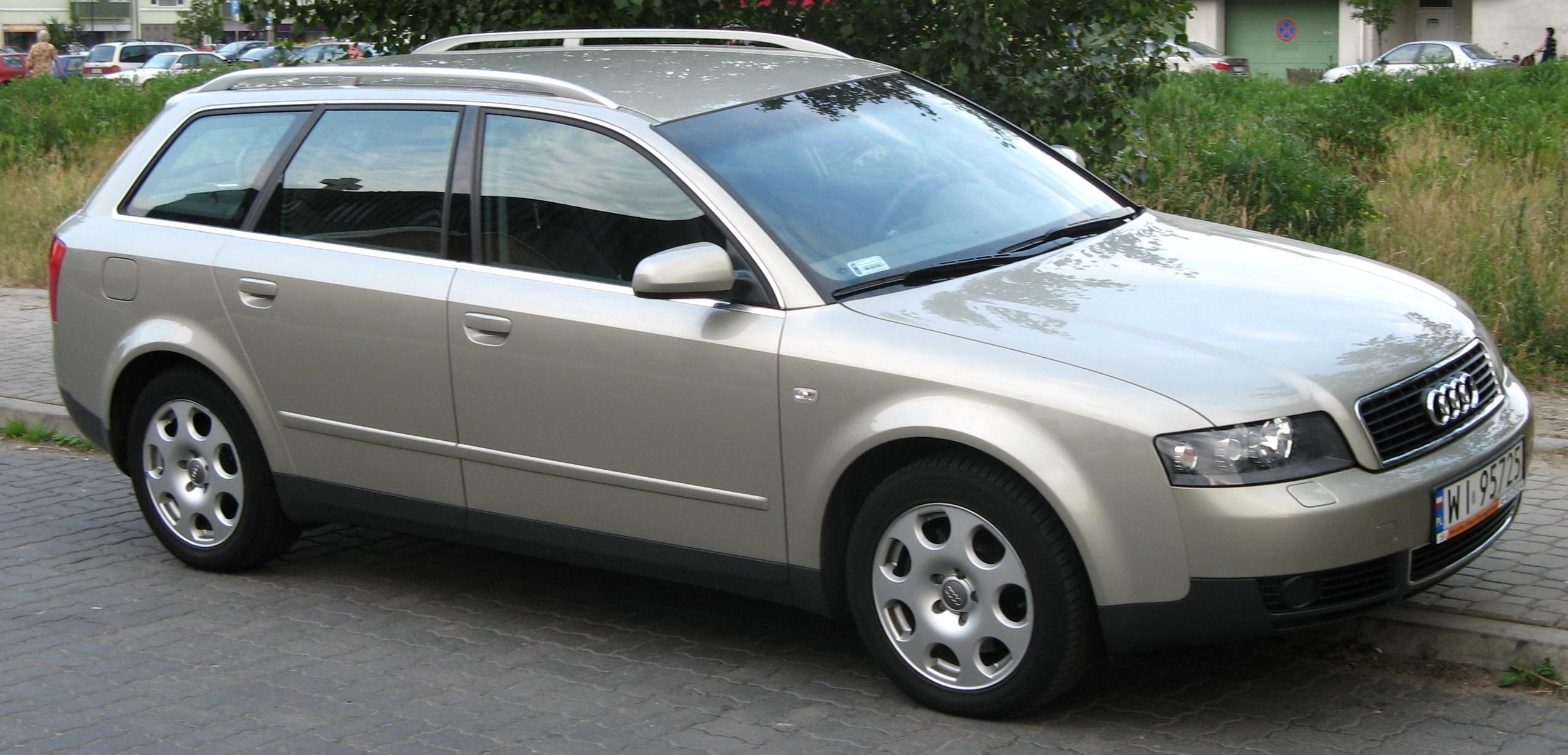 File Audi A4 Avant B6 2 5 Tdi Side Front Jpg