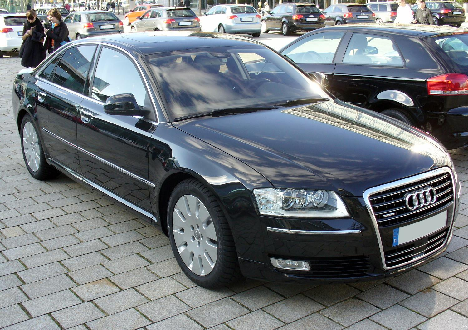 File Audi A8 Quattro Facelift Jpg Wikimedia Commons