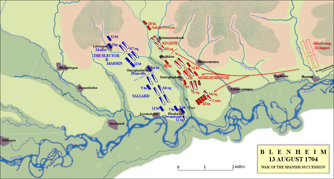 File Battle of Blenheim  13 August 1704 on guilford courthouse