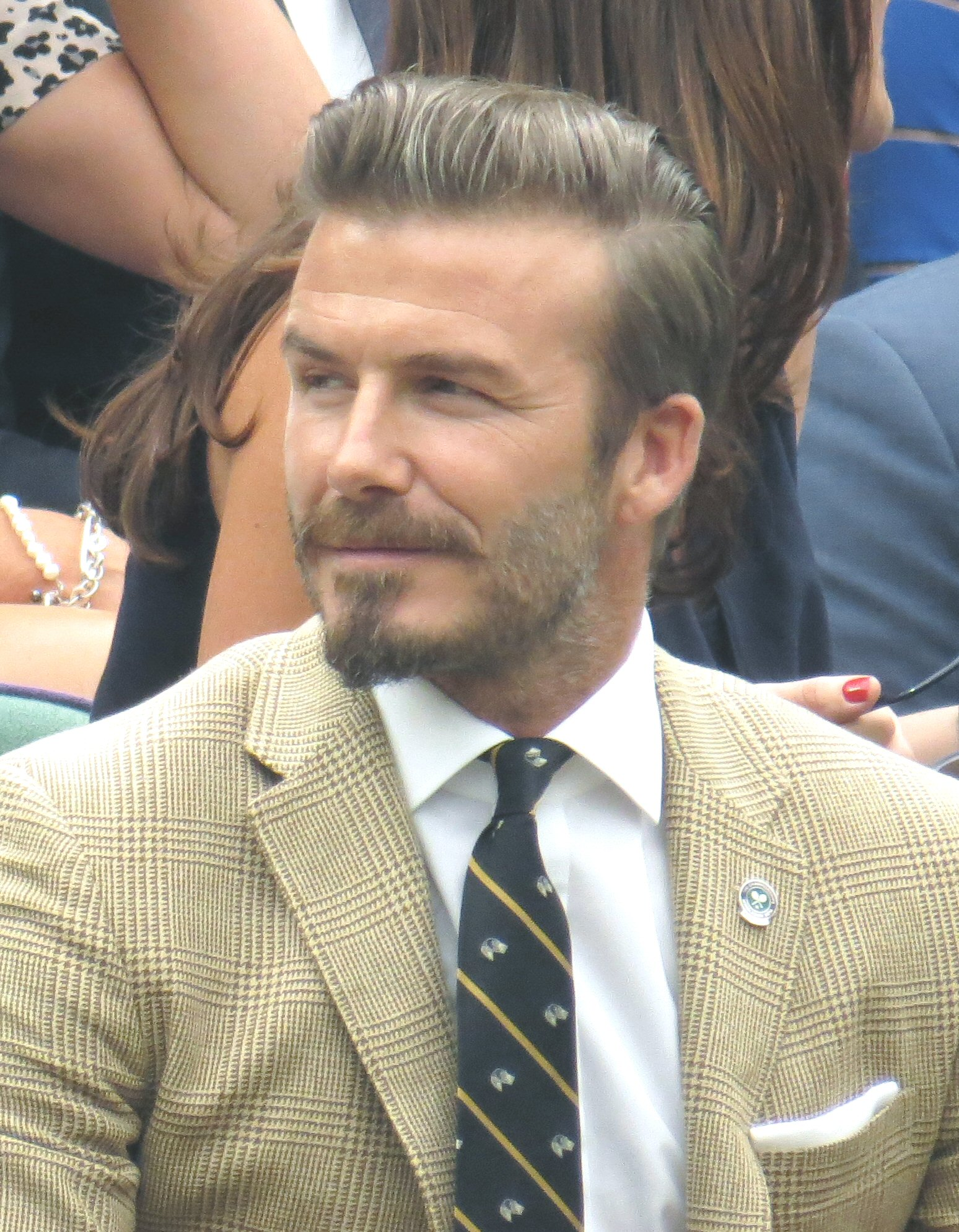 The 43-year old son of father Ted Beckham and mother Sandra West David Beckham in 2018 photo. David Beckham earned a 50 million dollar salary - leaving the net worth at 350 million in 2018