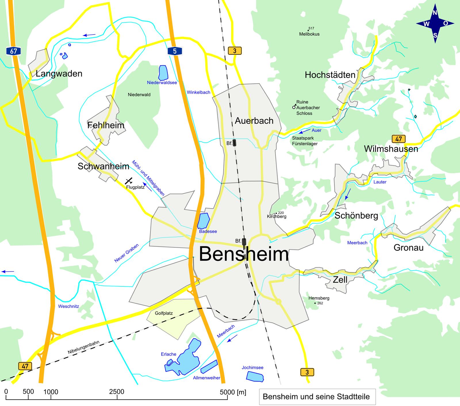 File Bensheim Map Wikimedia Commons