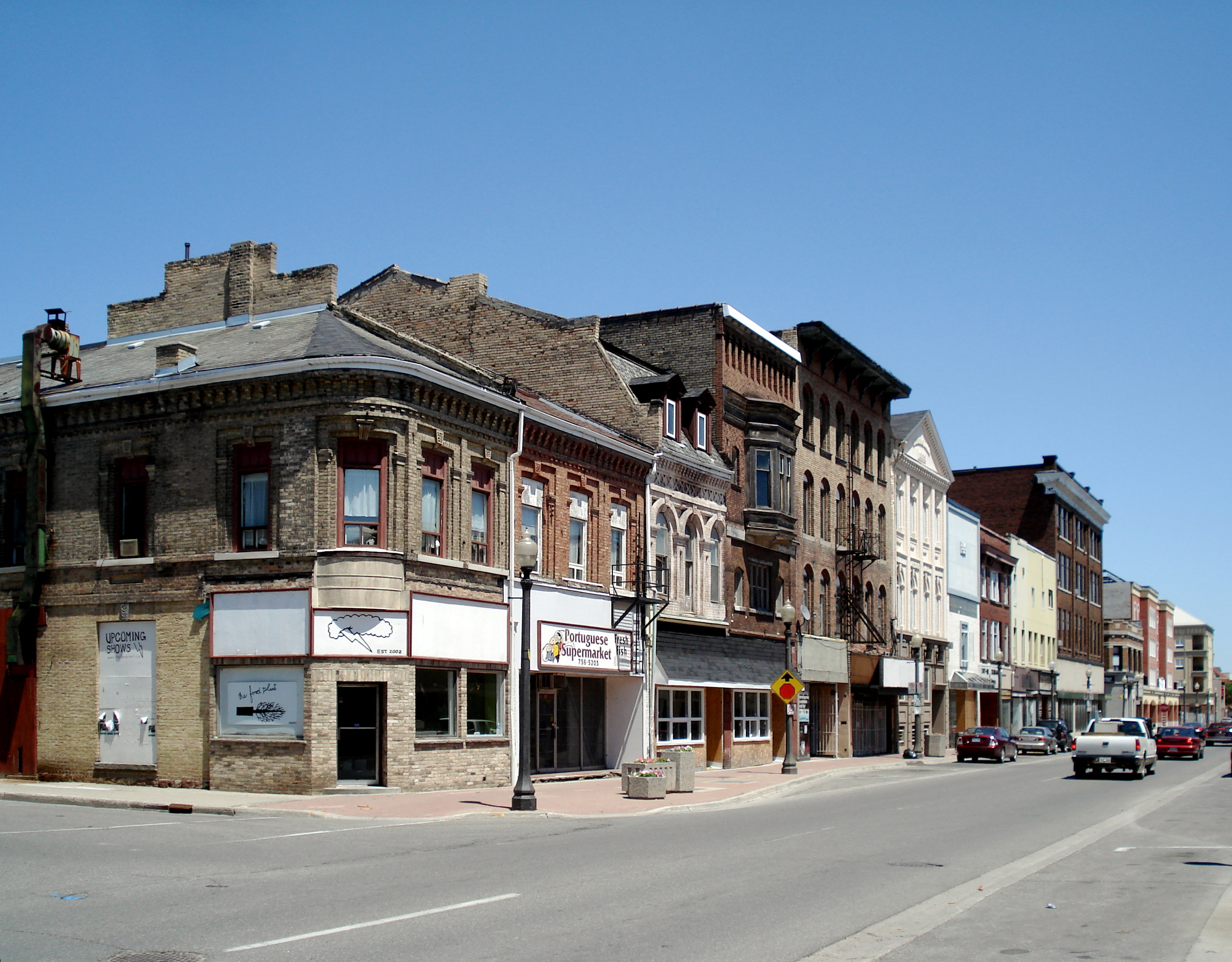 Brantford (ON) Canada  city photo : Brantford Ontario Colborne Street 1 Wikipedia, the free ...