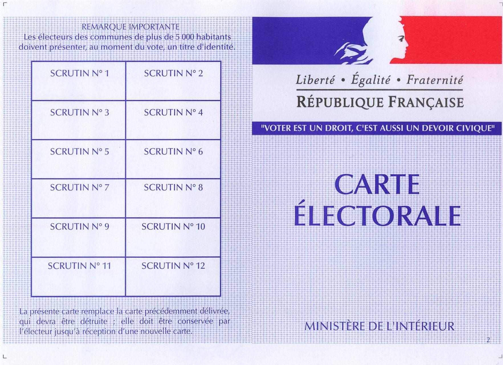 Radiation des listes électorales