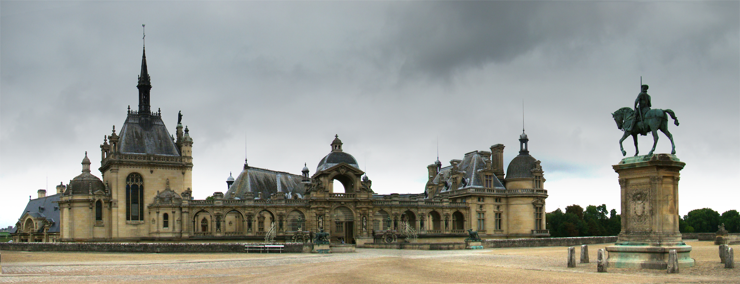 File chantilly1 wikimedia commons for Interieur france