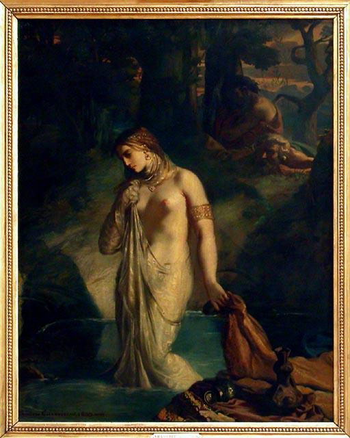 kvinder i badet frø