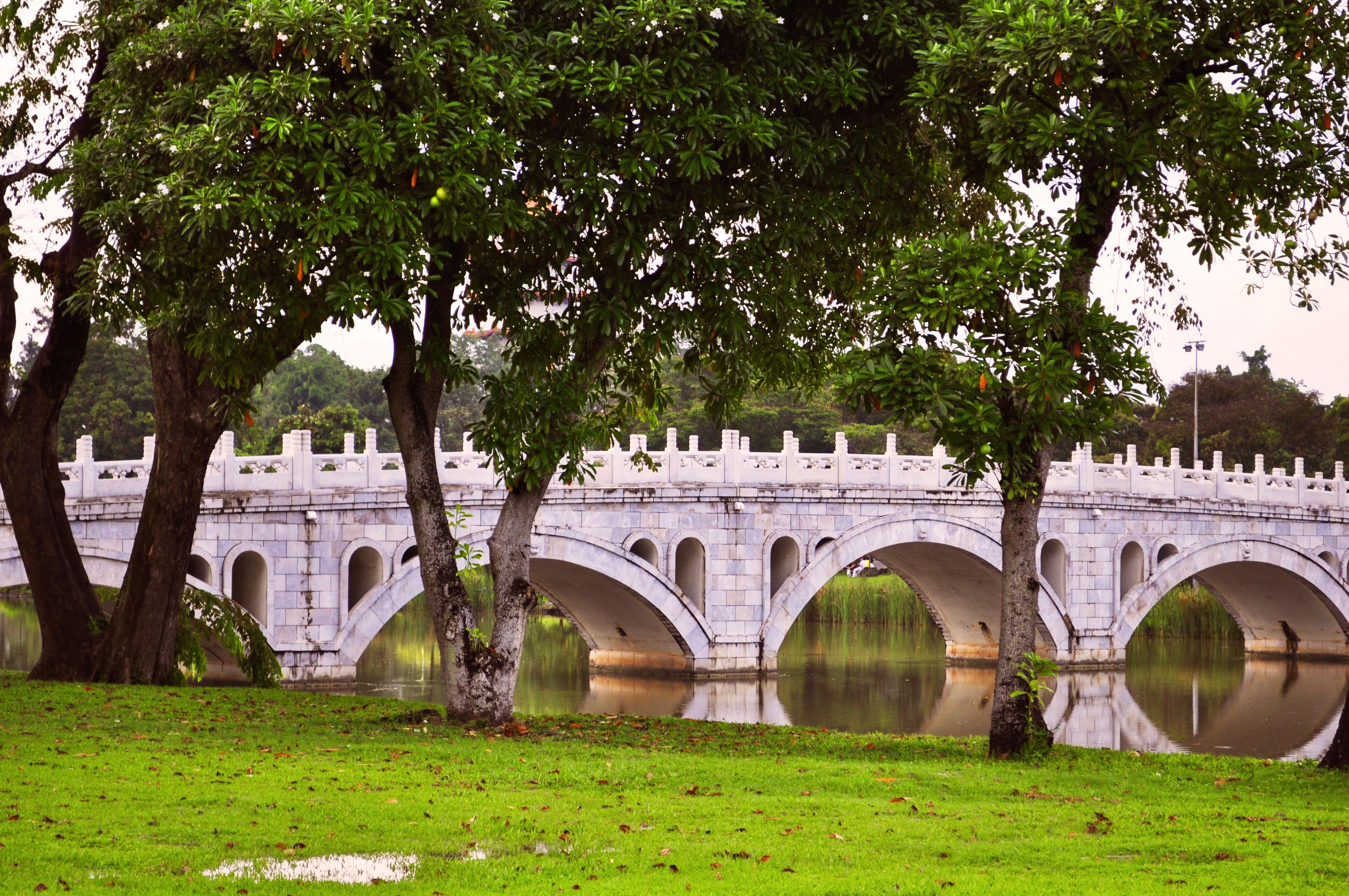 Chinese Garden Bridges Style - pixelmari.com