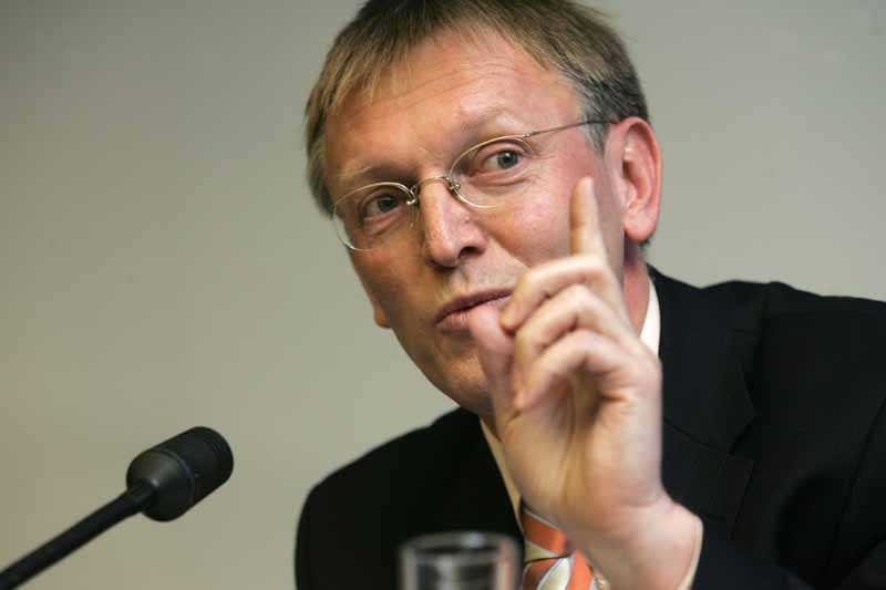 Commissioner Janez Potocnik at the inauguration of the