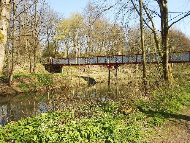 Dobson Bridge, Queen's Park, Bolton-geograph.org.uk-3439239