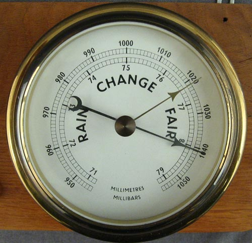 what does barometer mean