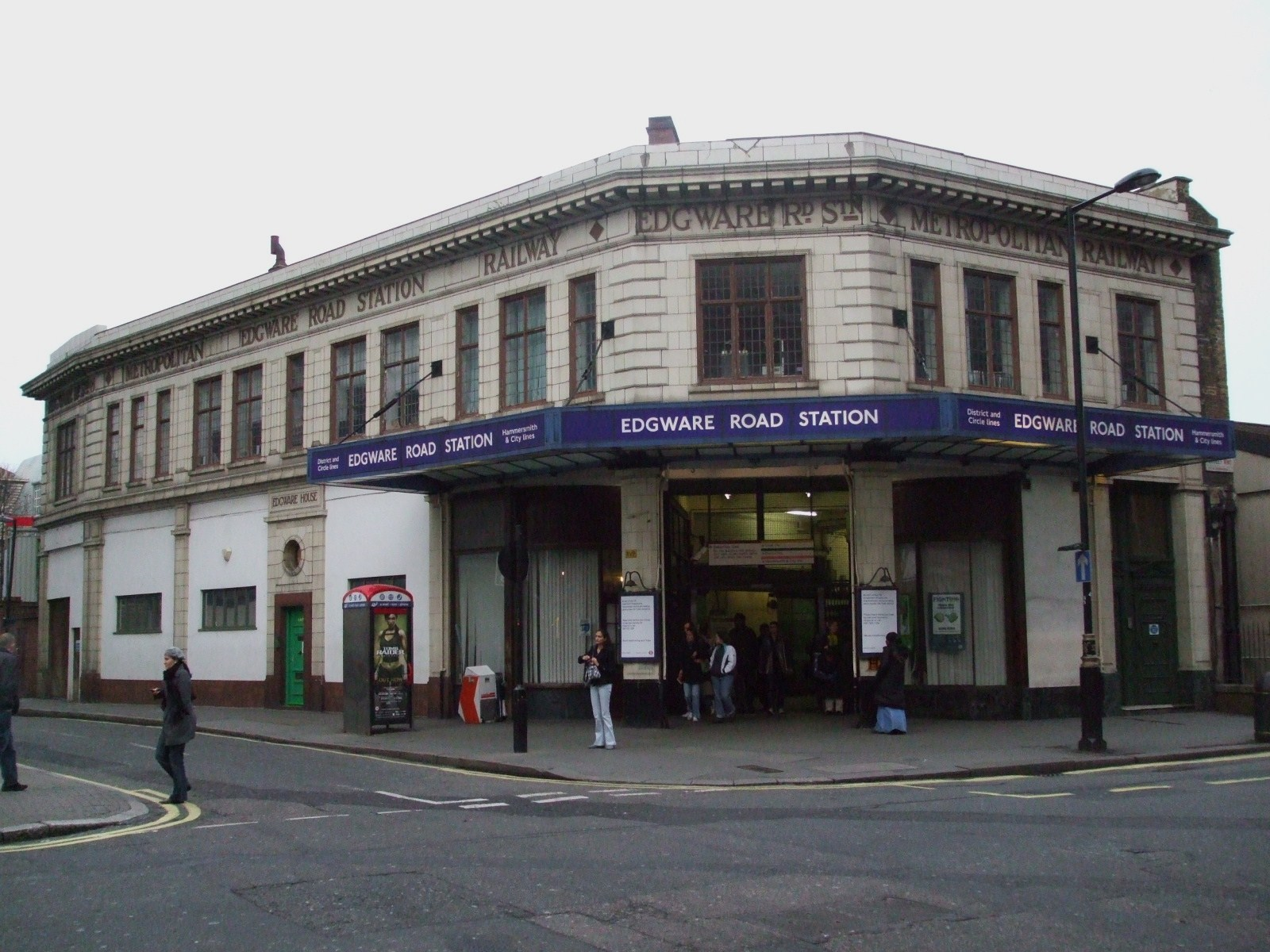 File Edgware Road Stn Circle Line Building Jpg