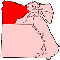 マトルゥーフ県の県域
