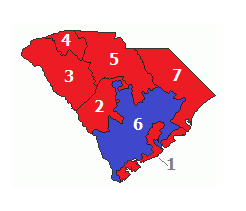 2012 election results, showing partisan membership
